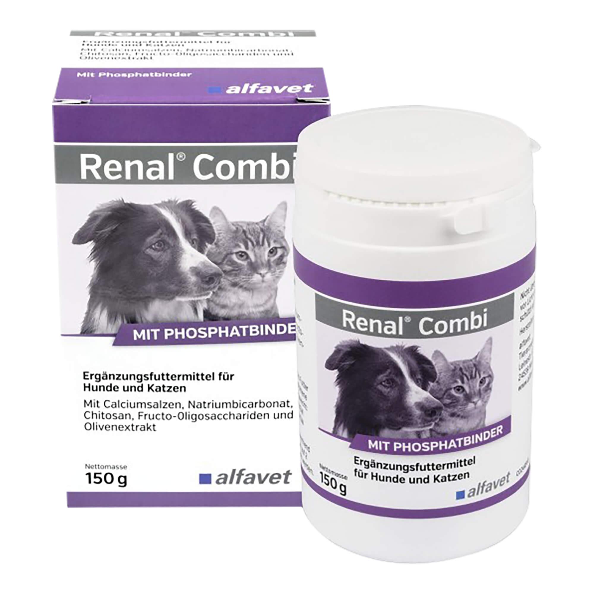 Renal Combi Ergänzungsfuttermittel Pulver für Hunde/Katzen