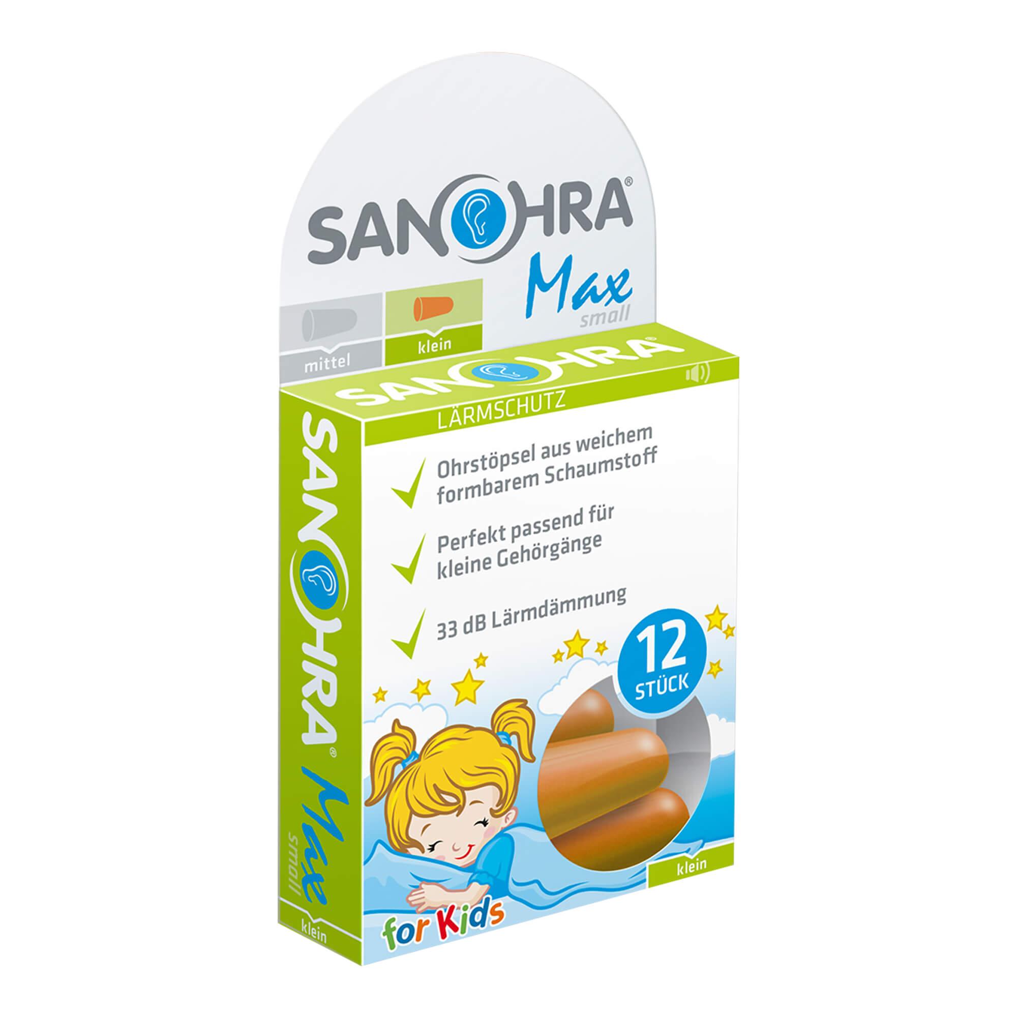 Sanohra Max Gehörschutzstöpsel für Kinder