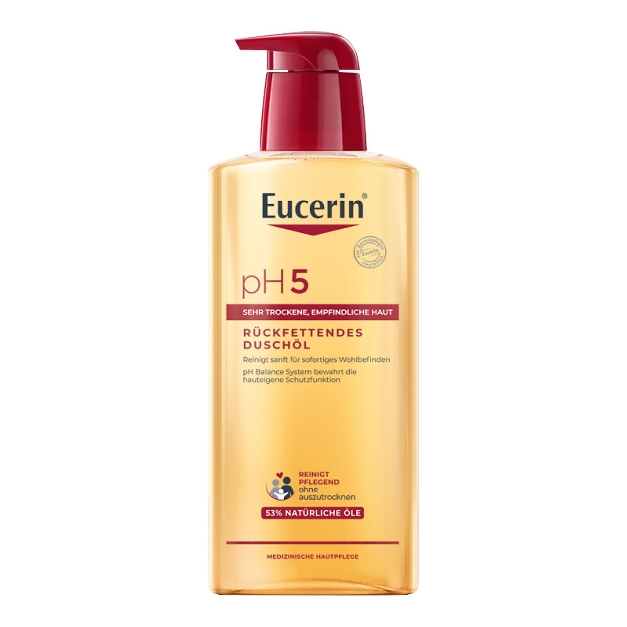 Eucerin pH5 Duschöl für empfindliche Haut mit Pumpe