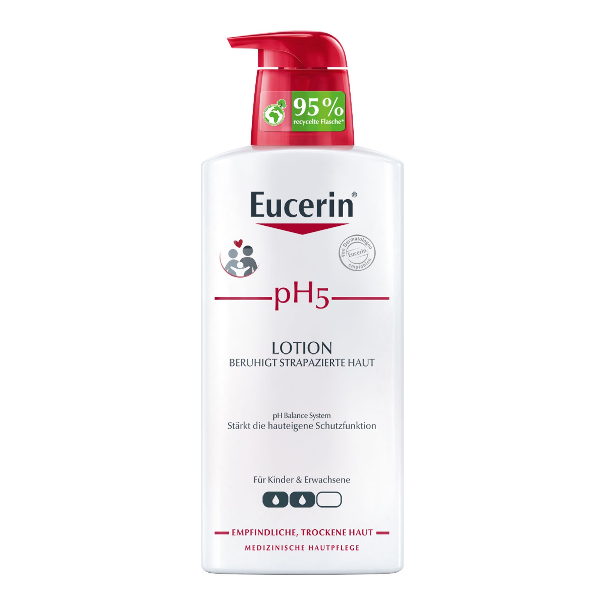 Eucerin pH5 Körperlotion mit Pumpe