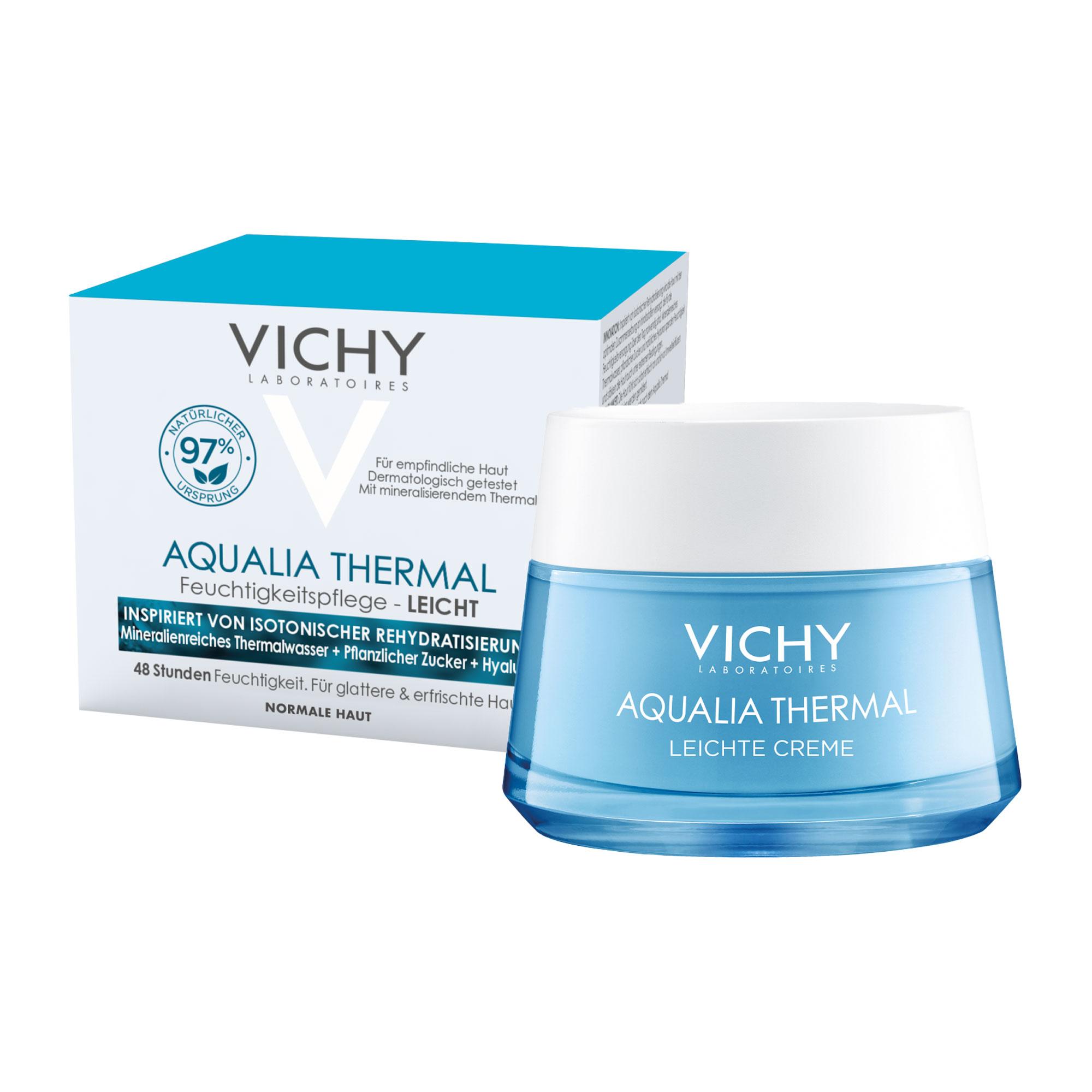 Vichy Aqualia Thermal Leichte Creme für das Gesicht