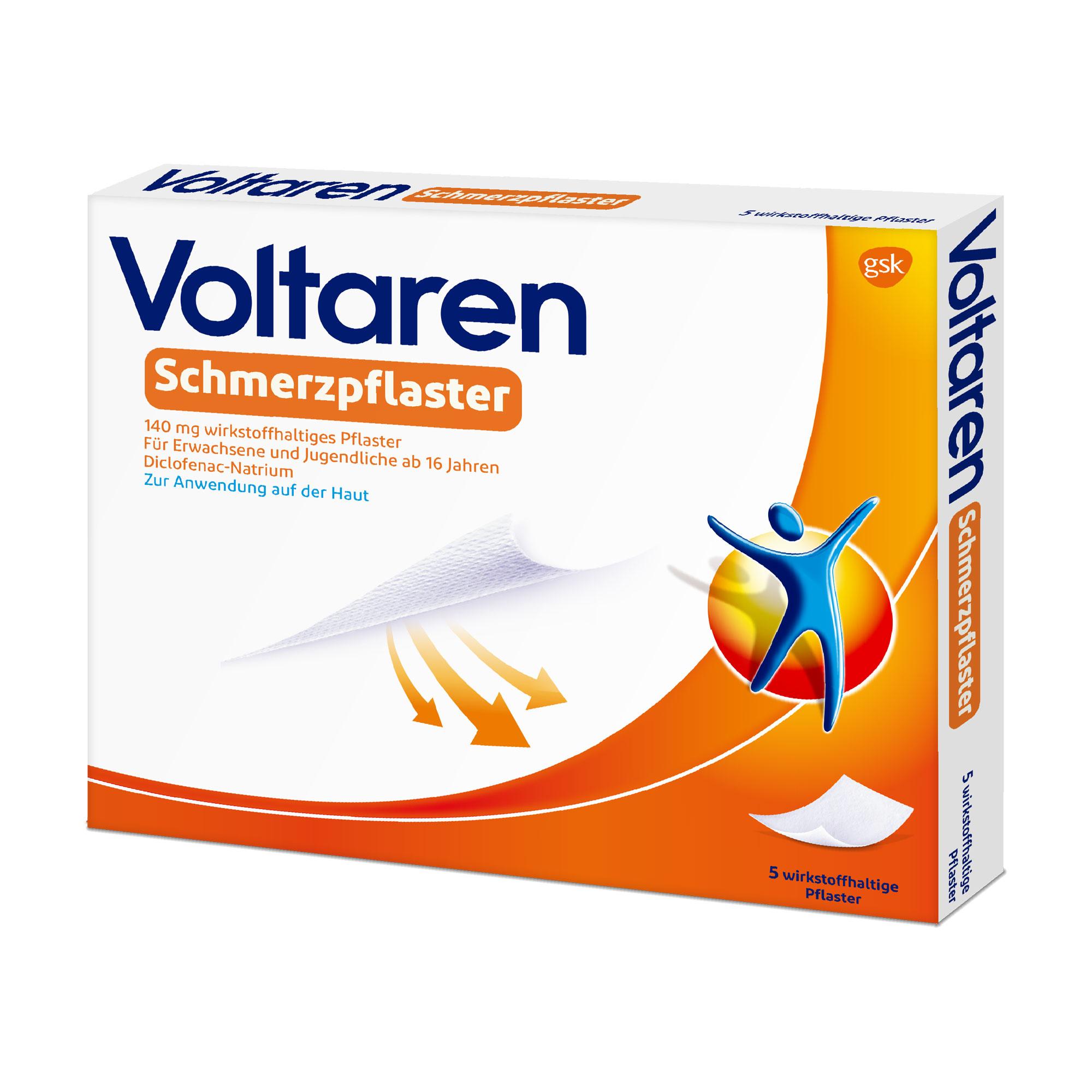 Voltaren Schmerzpflaster 140 mg wirkstoffhaltiges Pflaster