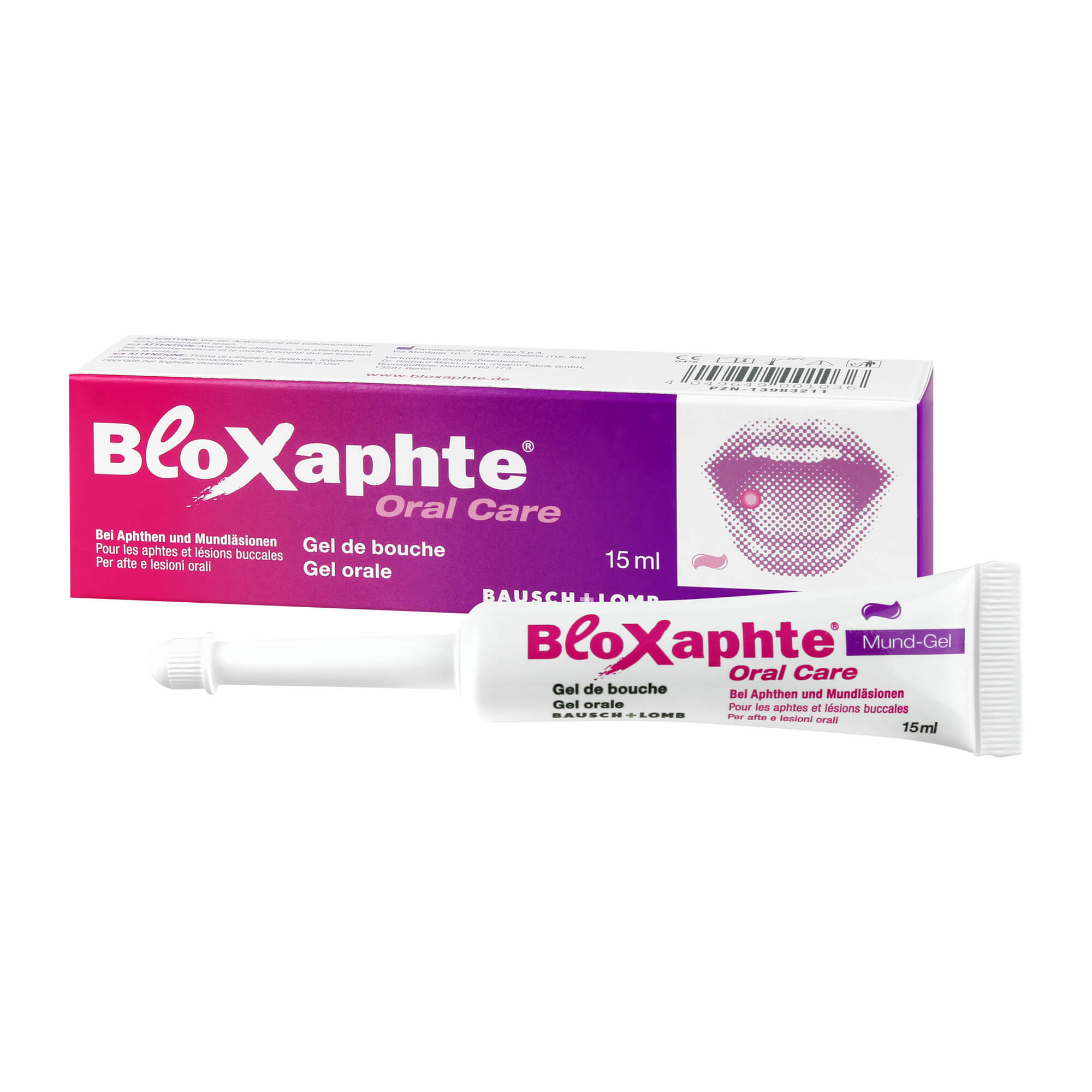 Bloxaphte Oral Care Mund Gel