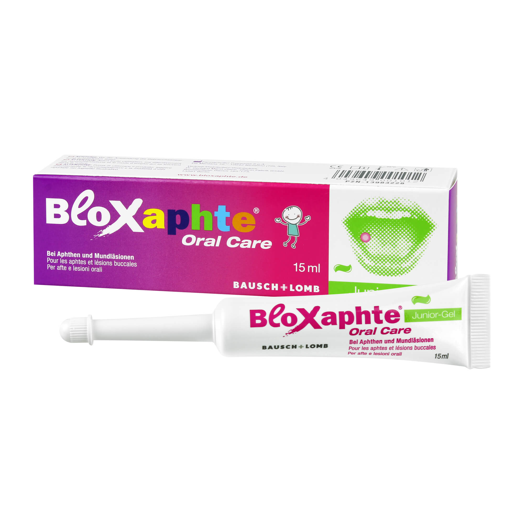Bloxaphte Oral Care Junior Gel