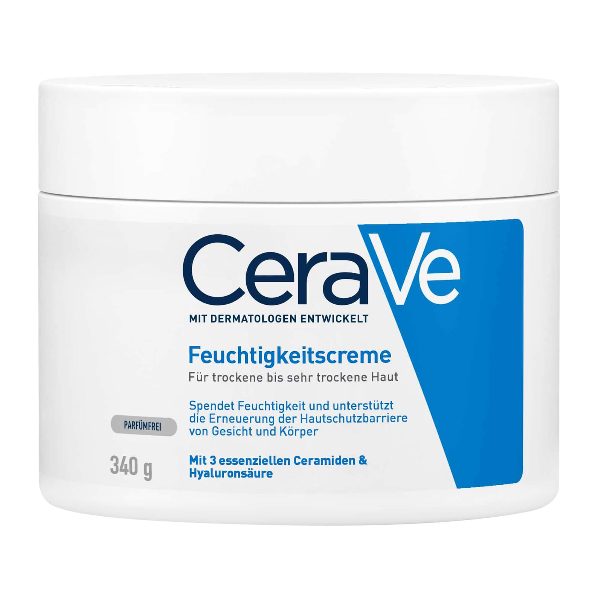 CeraVe Feuchtigkeitscreme für Gesicht und Körper