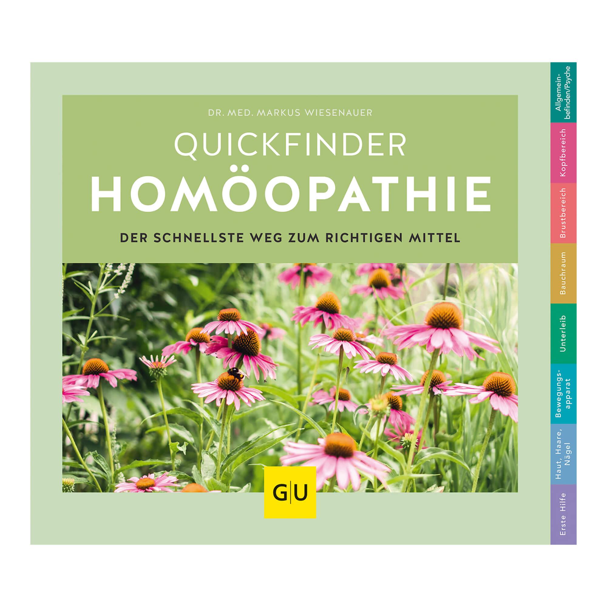 GU Quickfinder Homöopathie