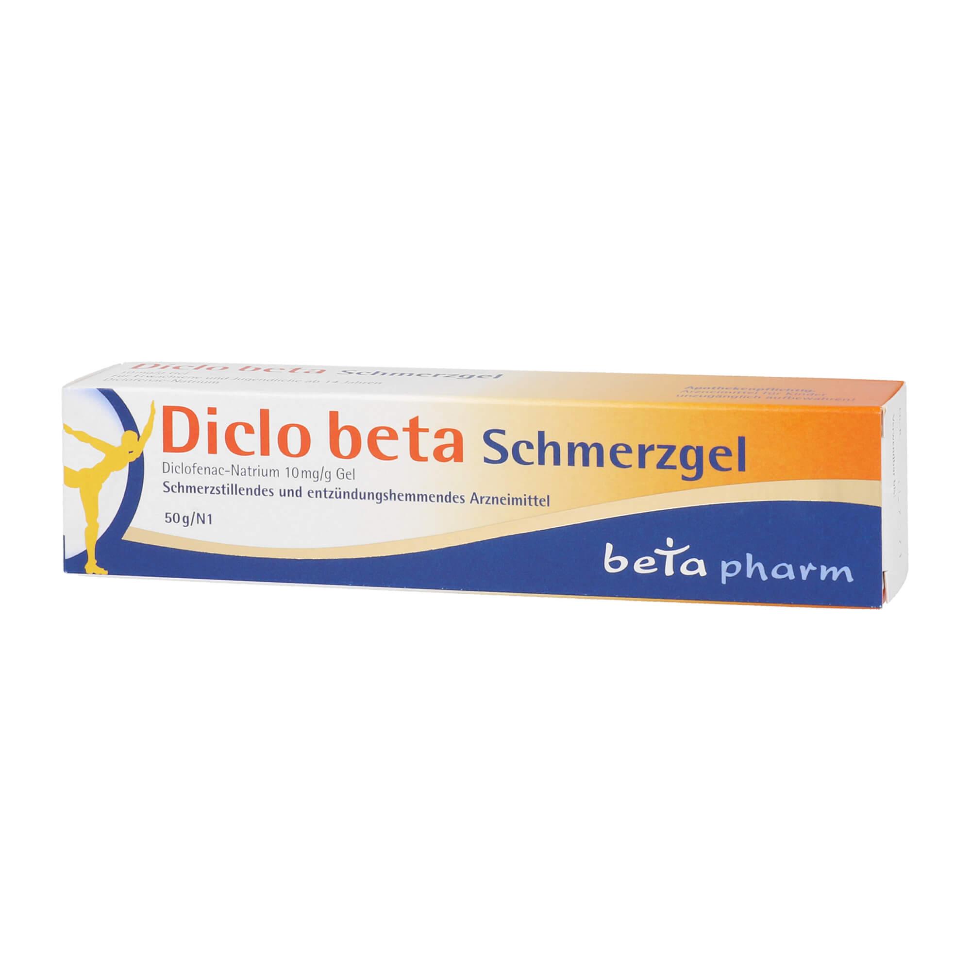 Diclo beta Schmerzgel