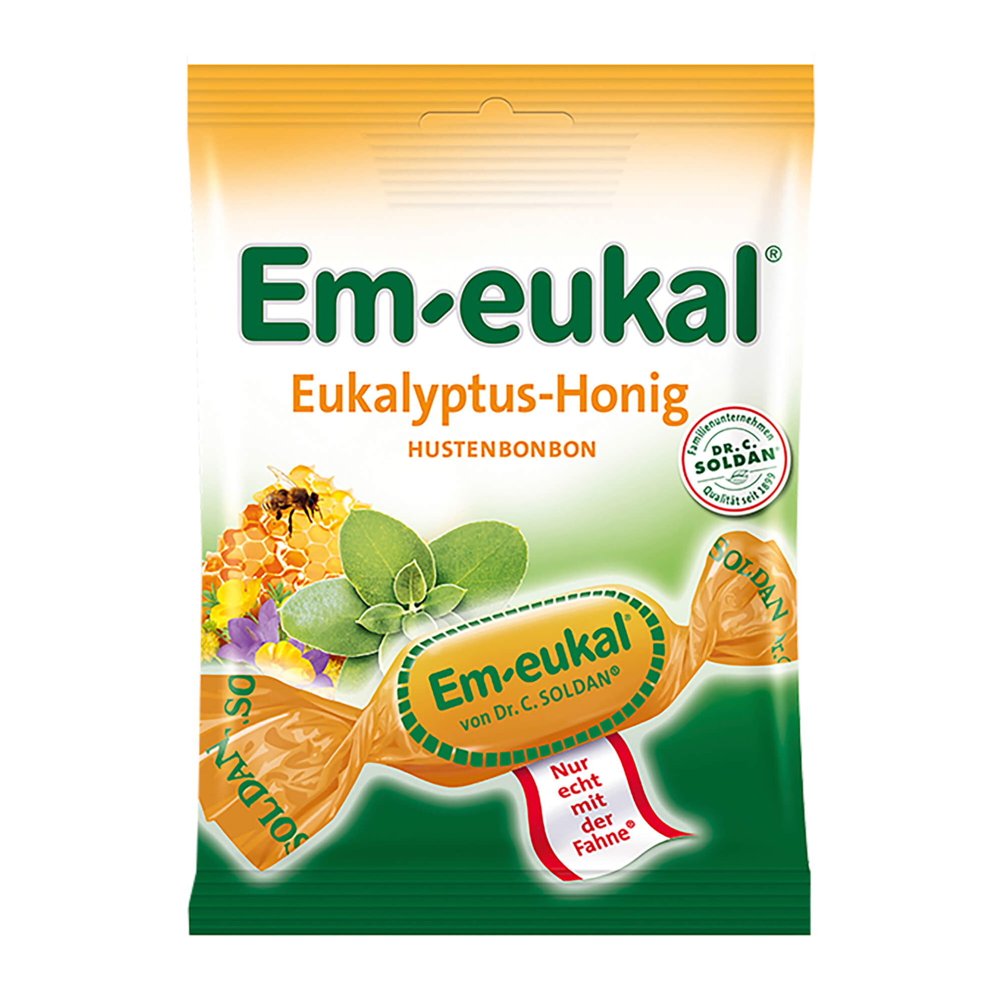 Em-eukal Bonbons Eukalyptus-Honig zuckerhaltig