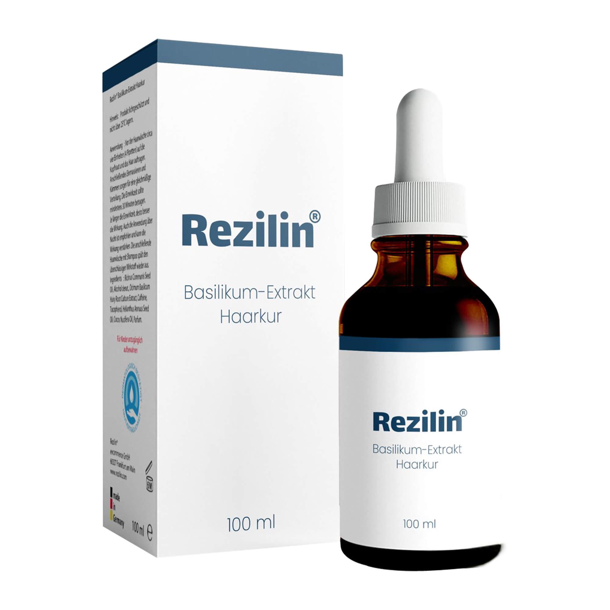 Rezilin Basilikum-Extrakt Haarkur