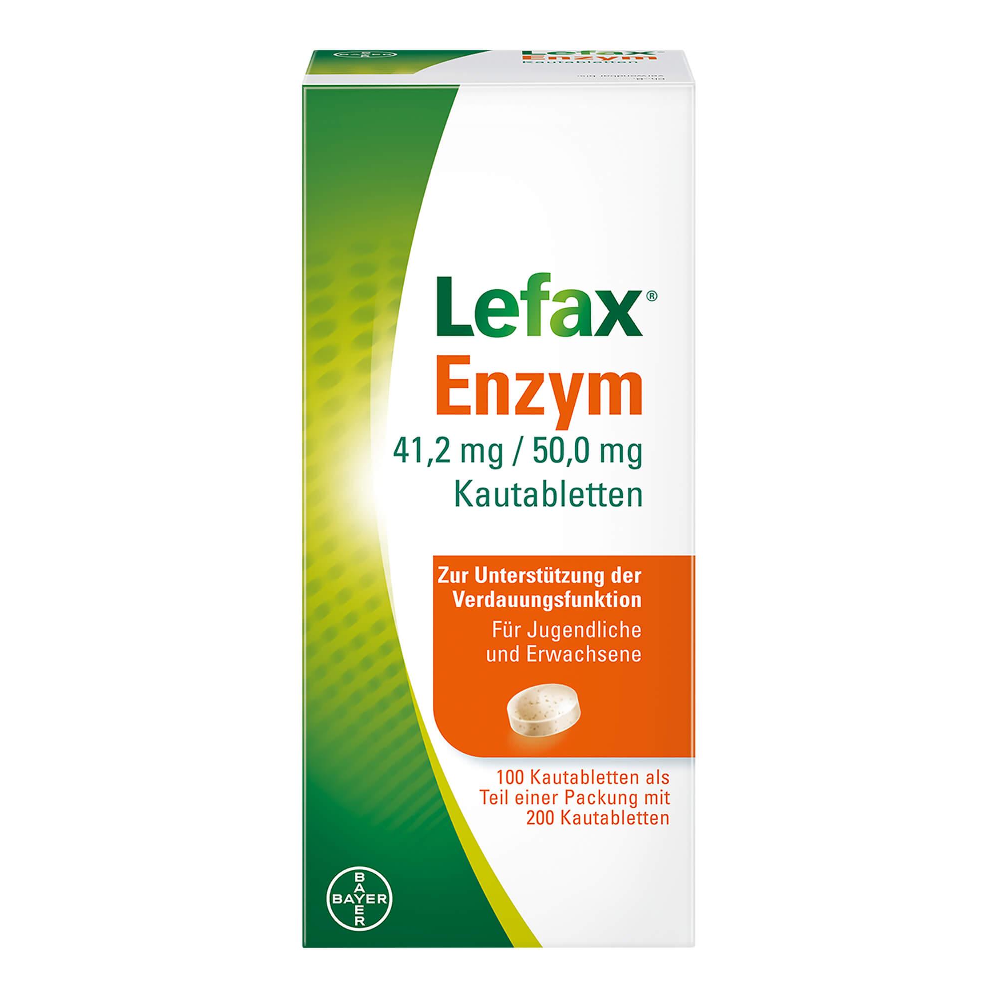 Lefax Enzym Kautabletten
