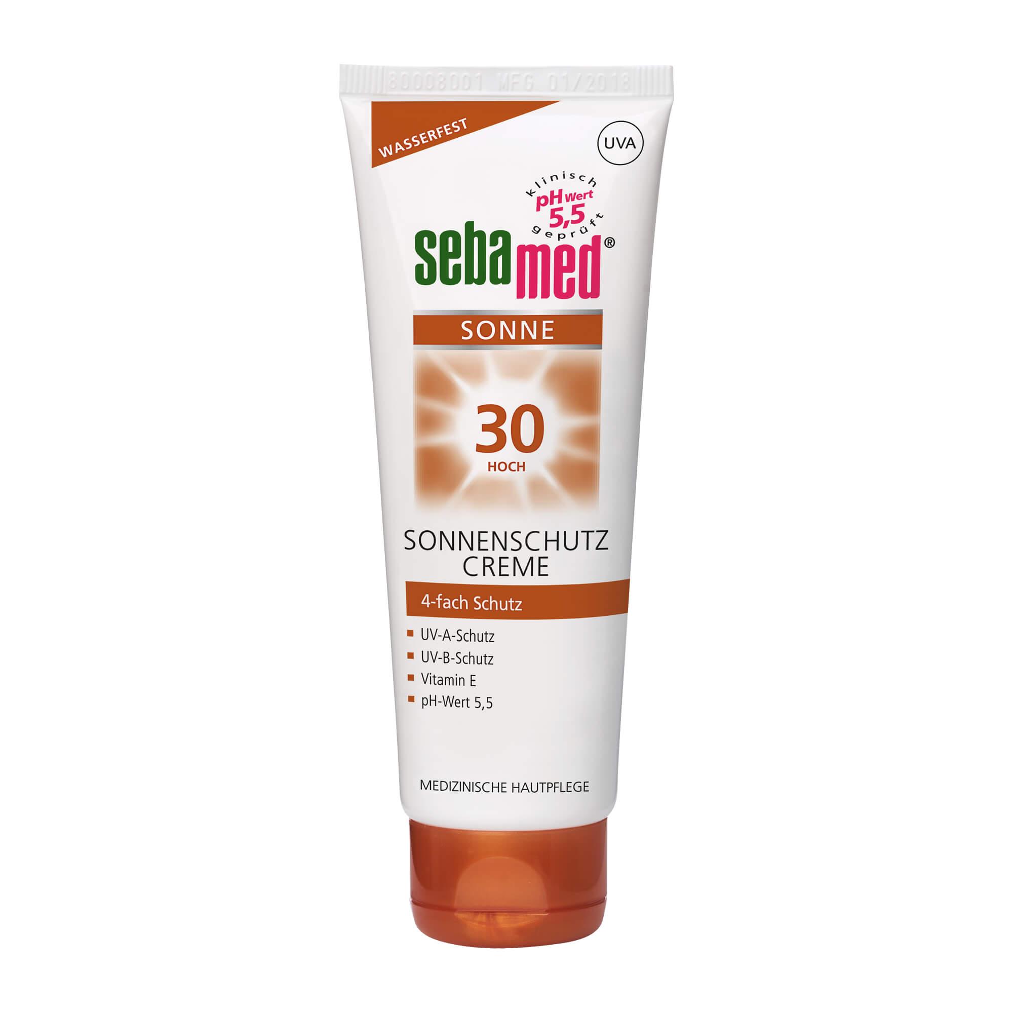 Sebamed Sonnenschutz Creme LSF 30