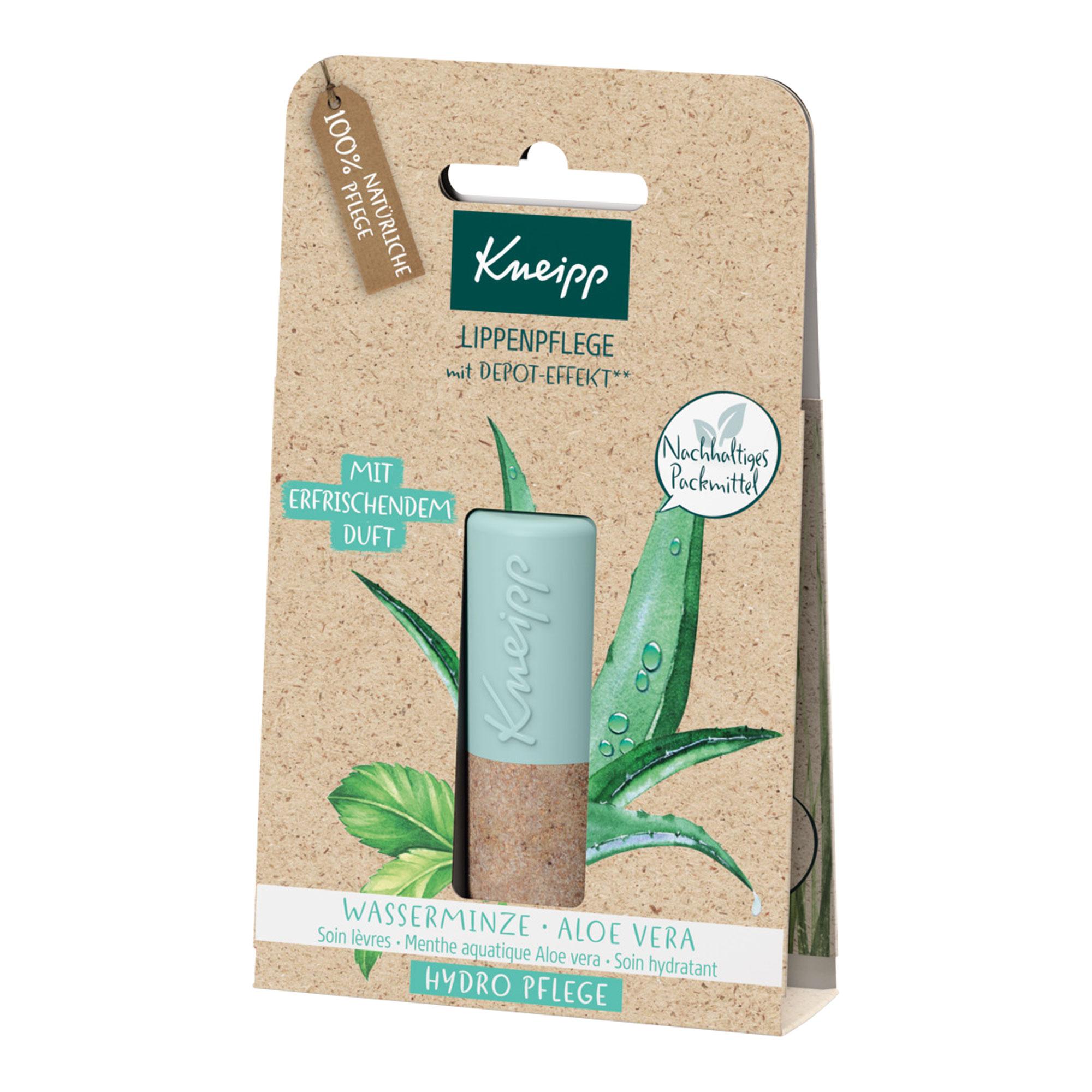 Kneipp Lippenpflege Hydro Wasserminze/Aloe Vera
