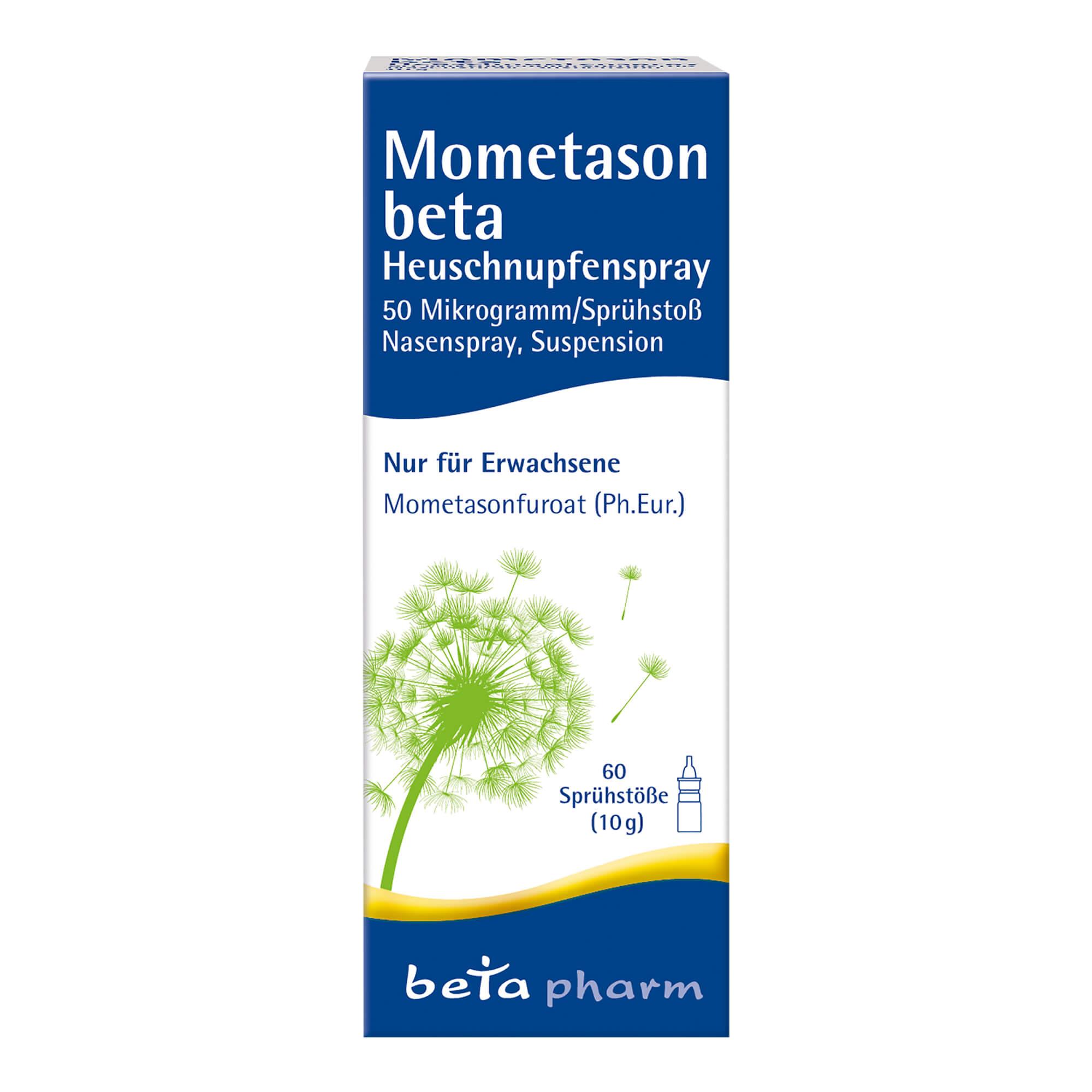 Mometason beta Heuschnupfenspray