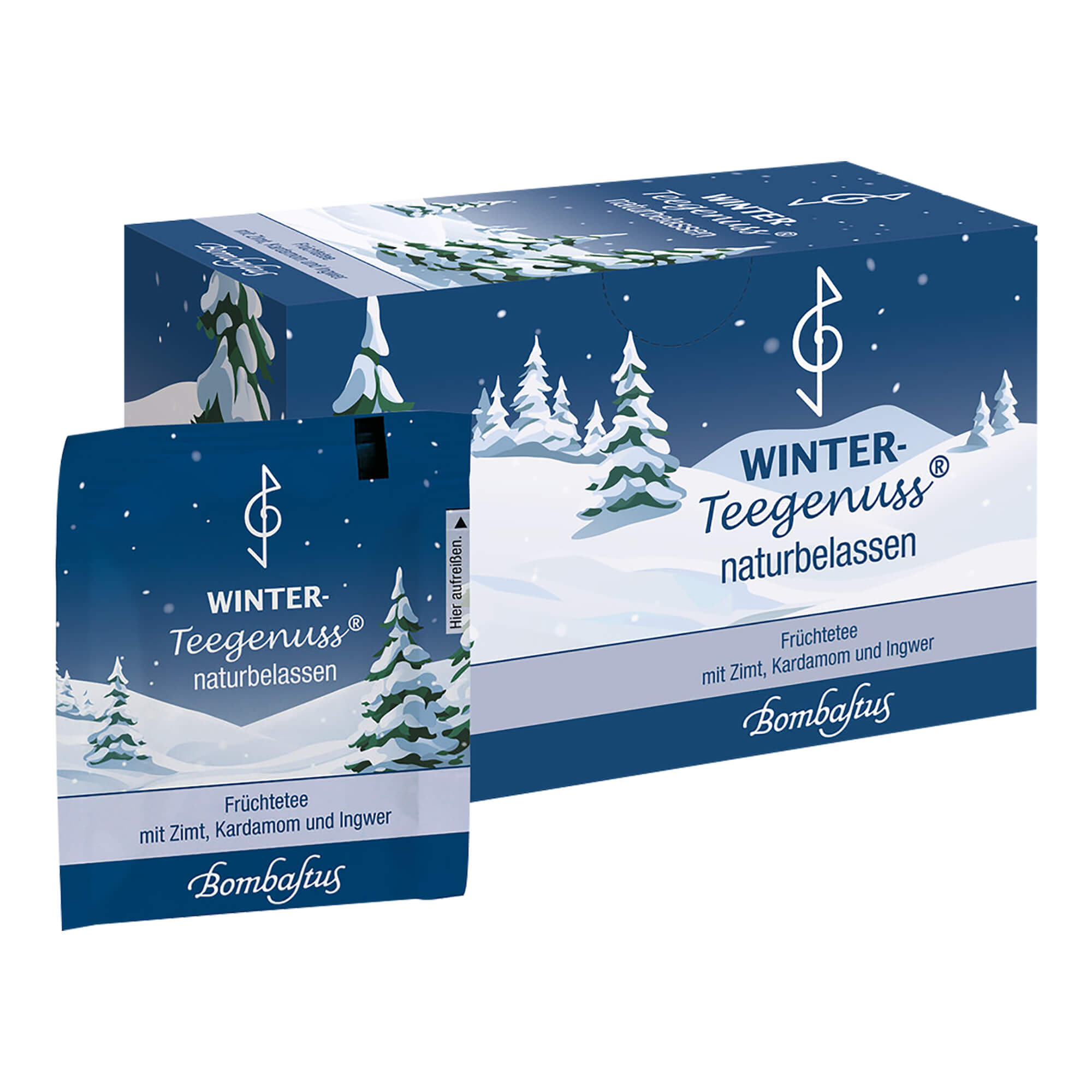 Winter-Teegenuss Zimt Kardamom Ingwer