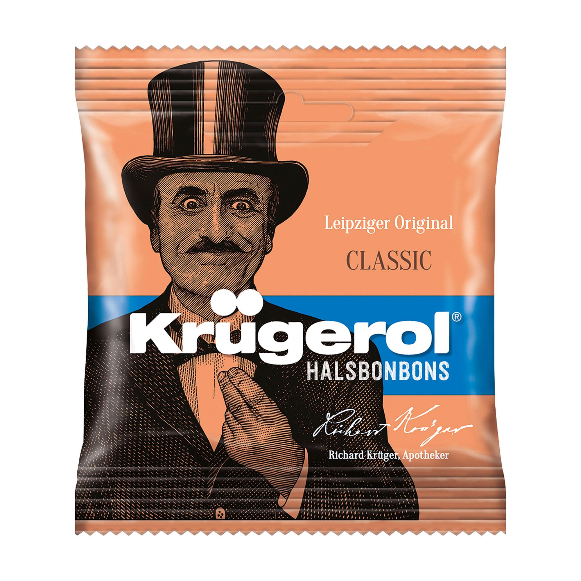 Krügerol Halsbonbons zuckerhaltig