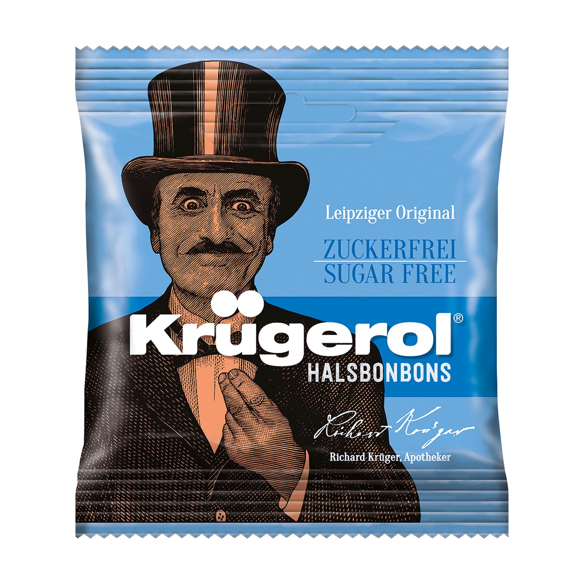Krügerol Halsbonbons zuckerfrei