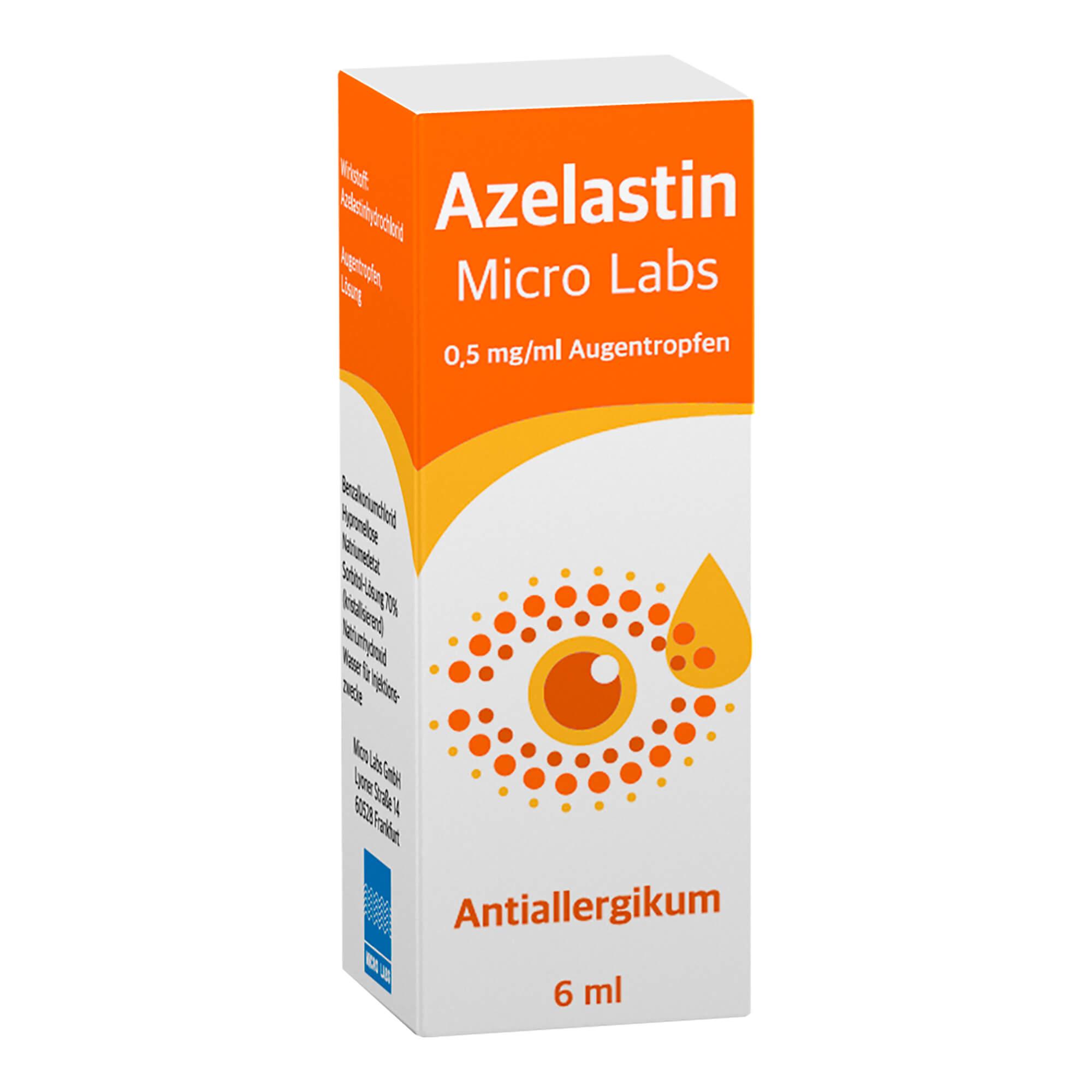 Azelastin Micro Labs 0,5 mg/ml Augentropfen