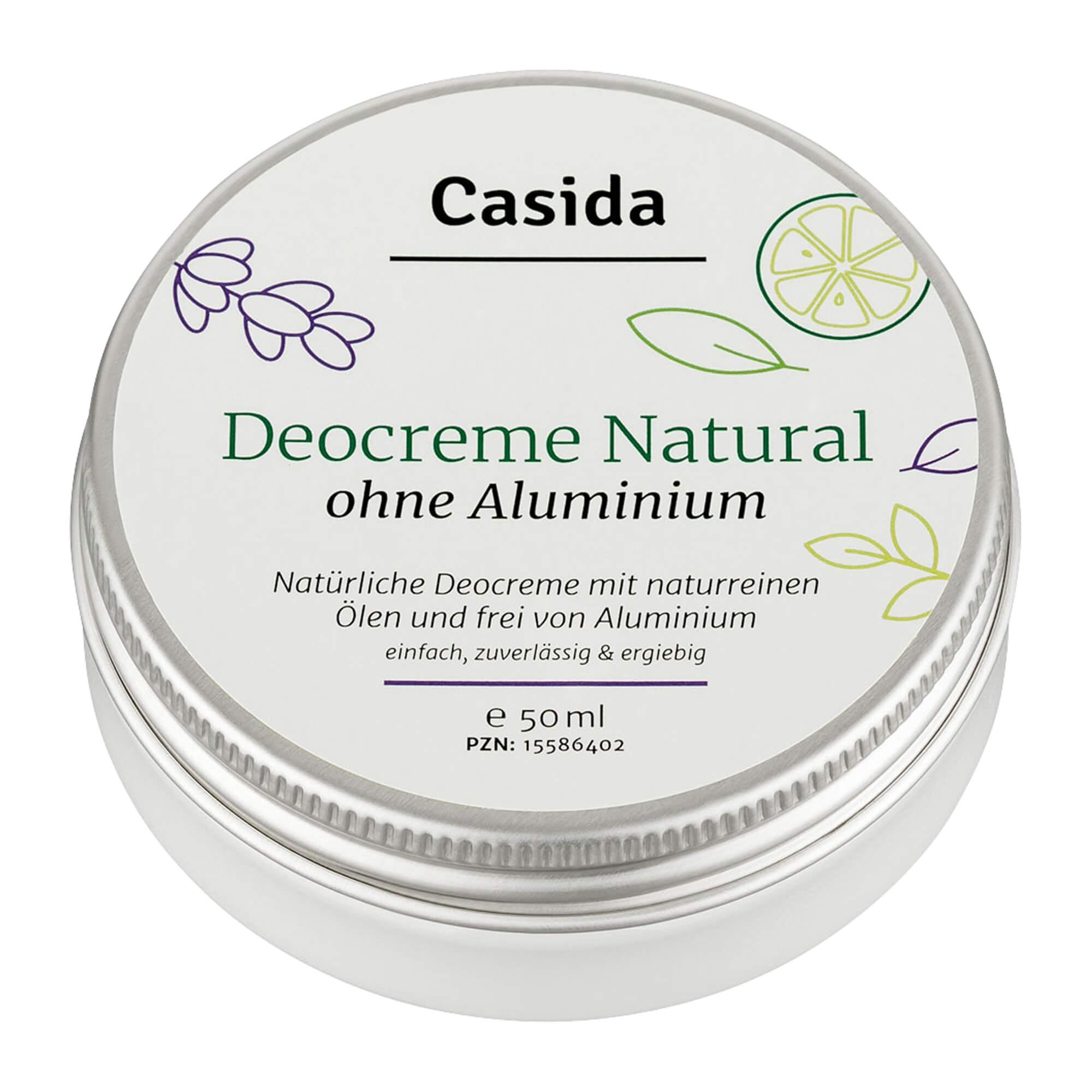 Deo Creme Natural ohne Aluminium