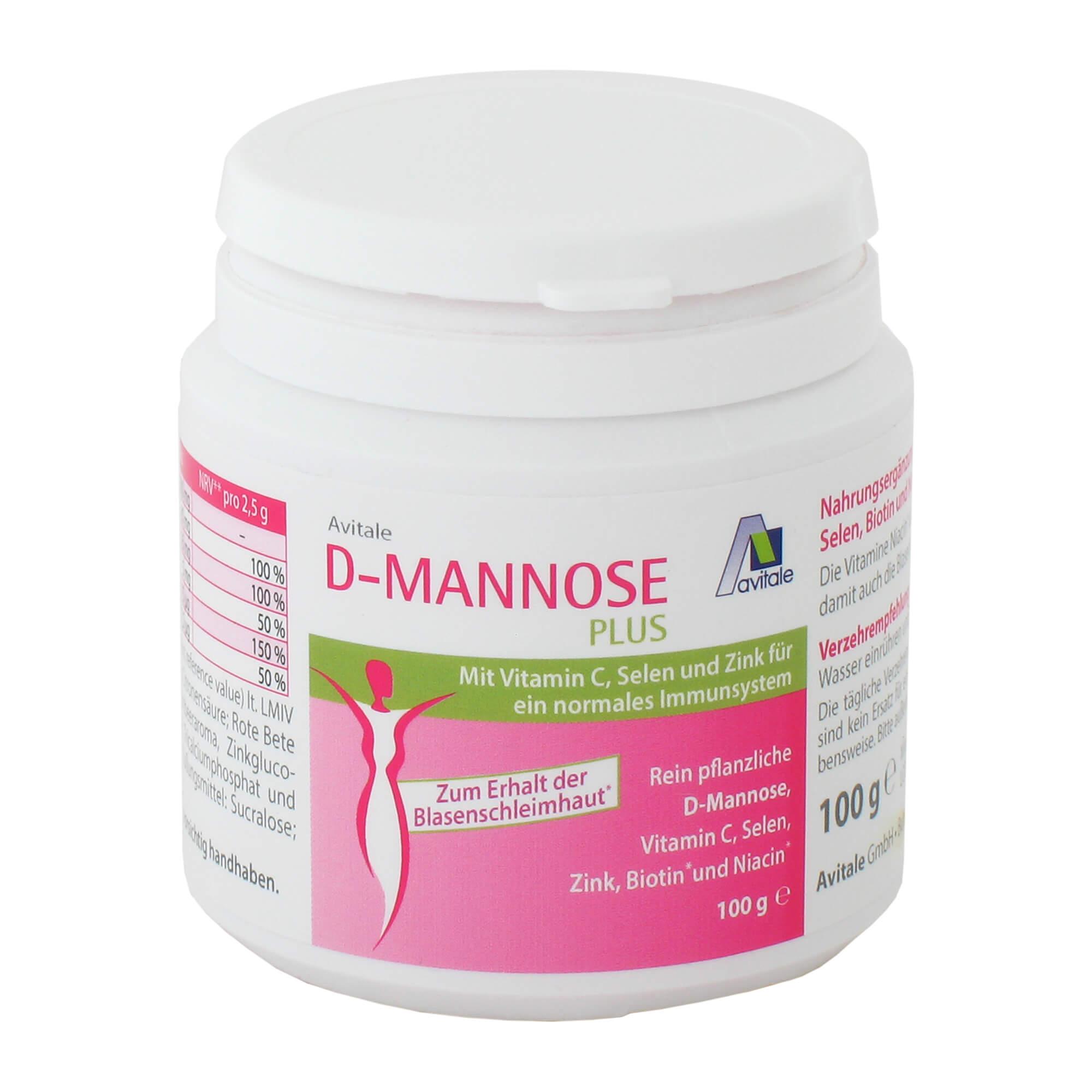 D-MANNOSE Plus 2000 mg Pulver