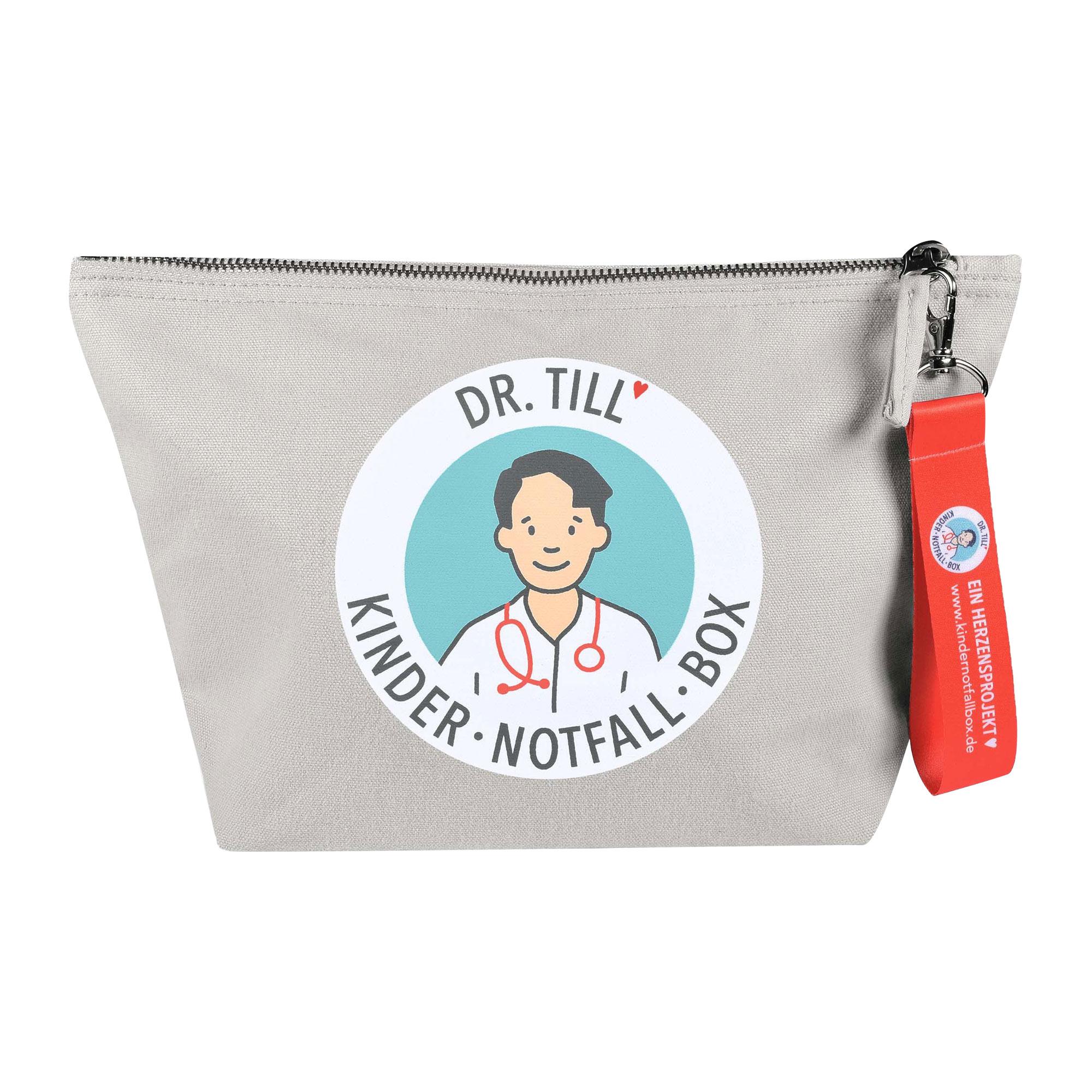 Kindernotfallbox-Tasche zur Ersten Hilfe am Kind