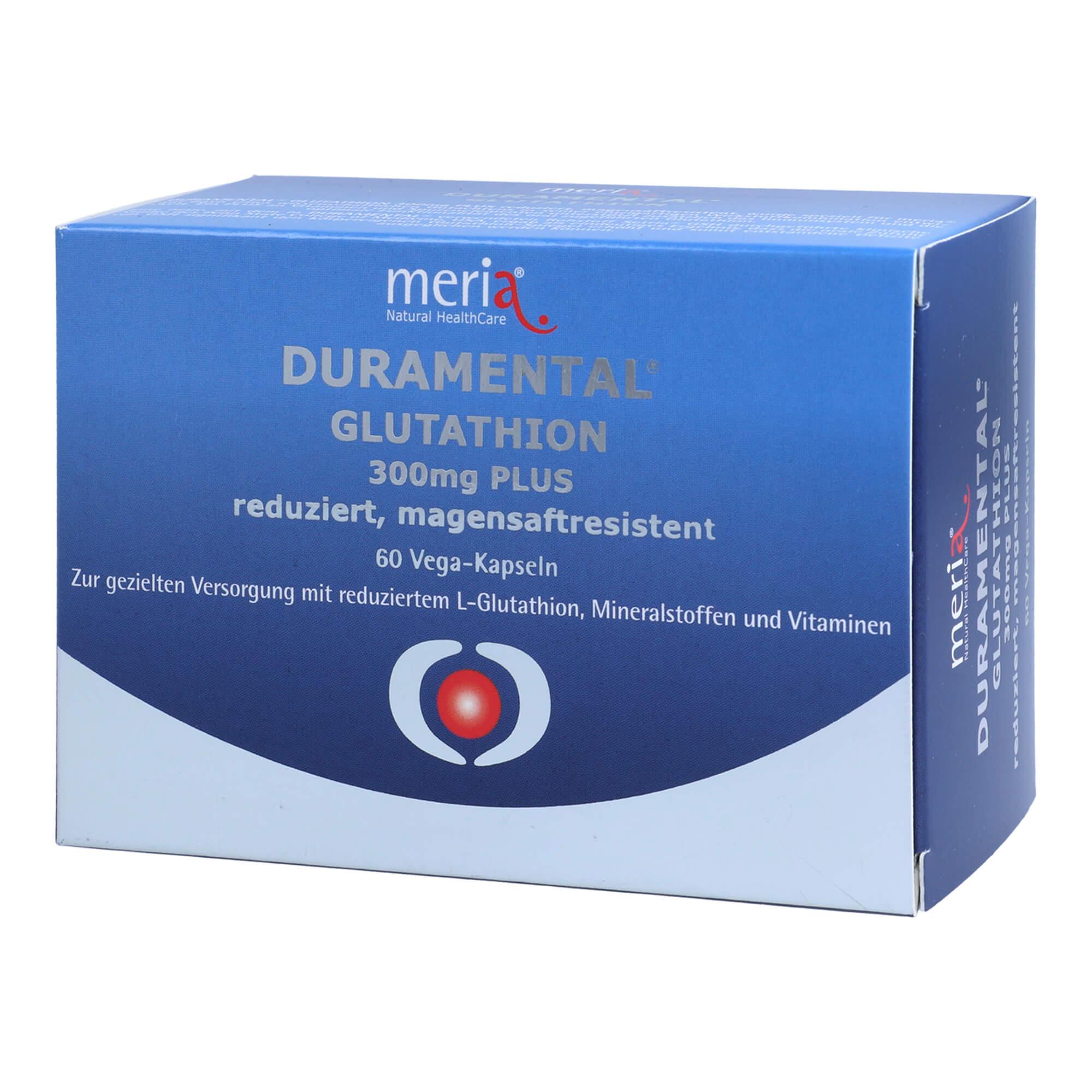 Duramental Glutathion 300 mg PLUS