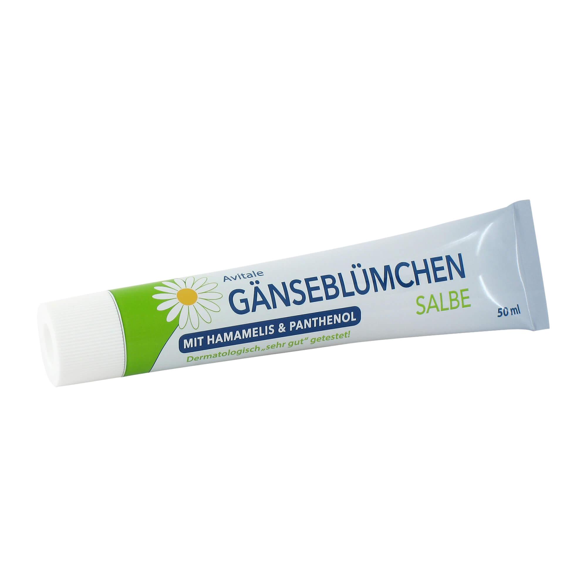 Gänseblümchen Salbe mit Hamamelis & Panthenol