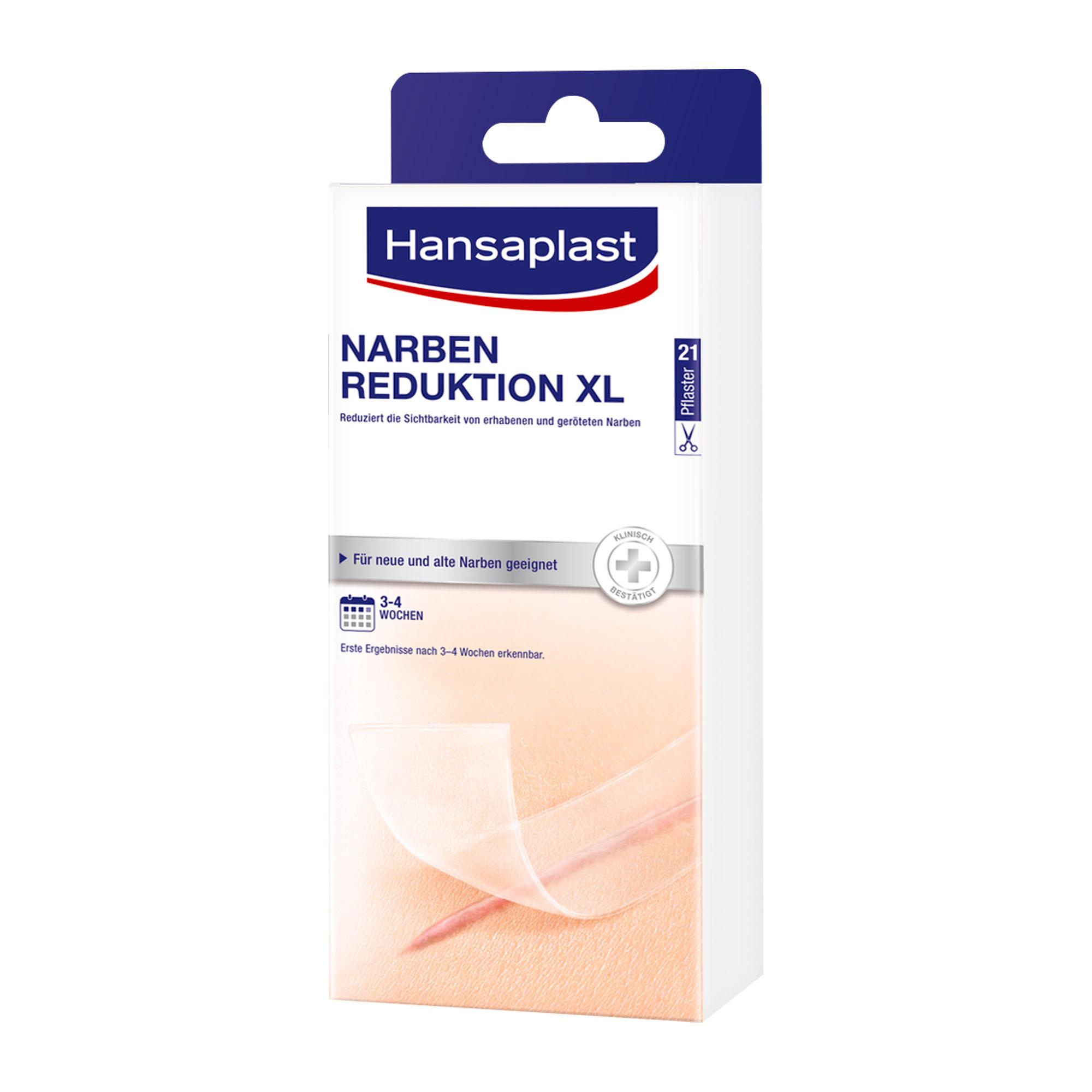 Hansaplast Pflaster zur Behandlung von großen Narben XL