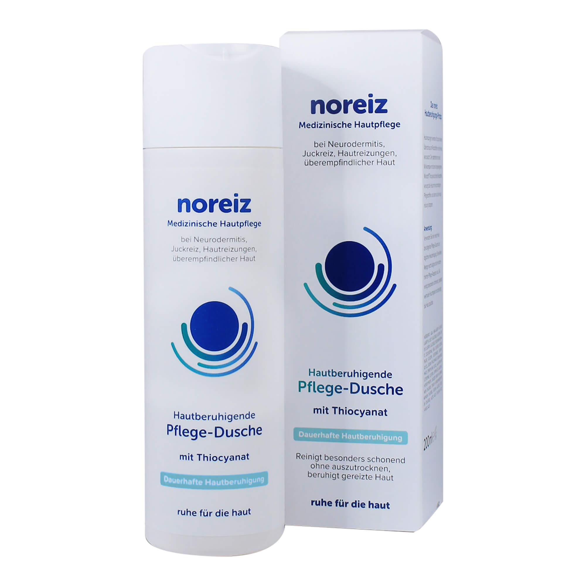 Noreiz Hautberuhigende Pflegedusche