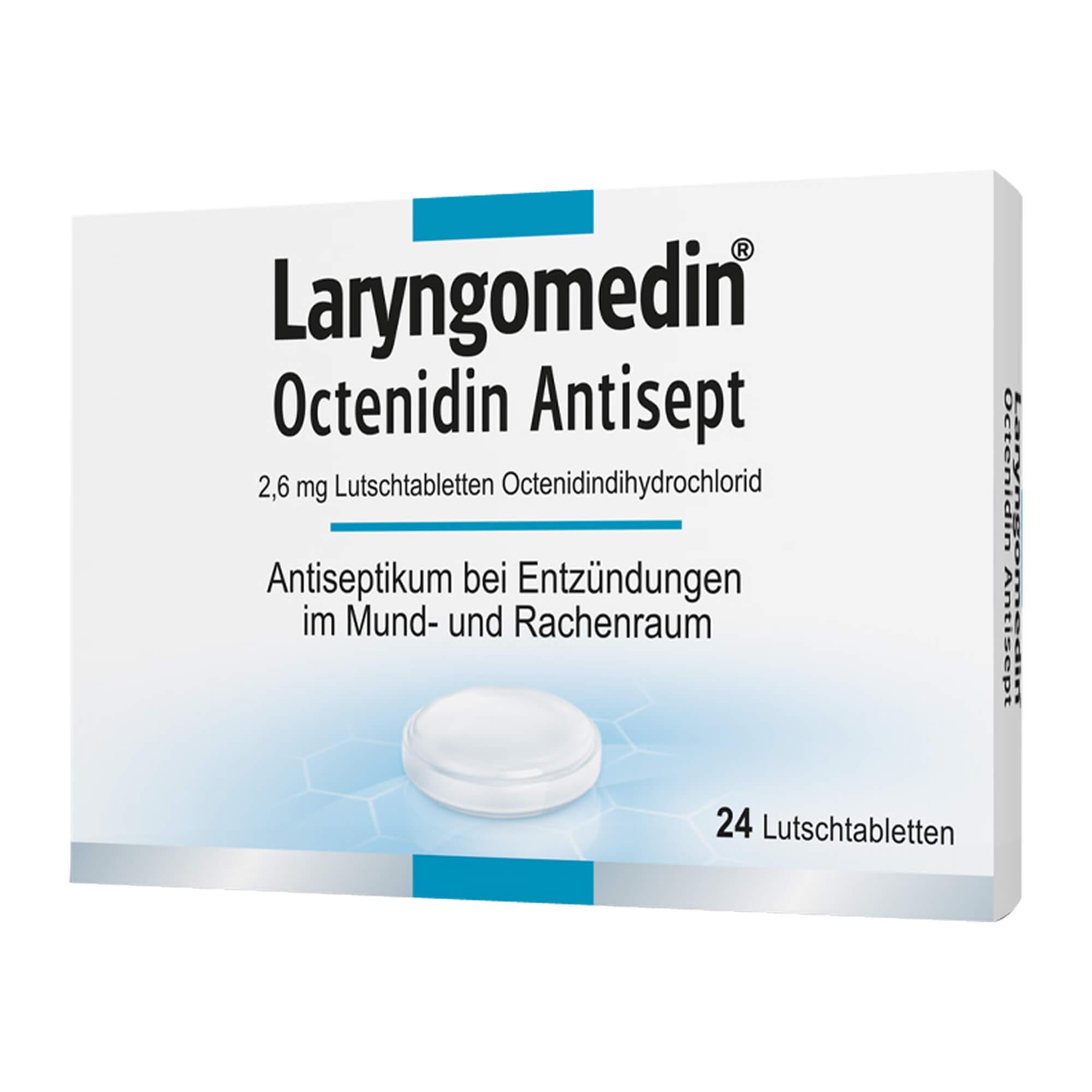 Laryngomedin Octenidin Antisept 2,6 mg Lutschtabletten