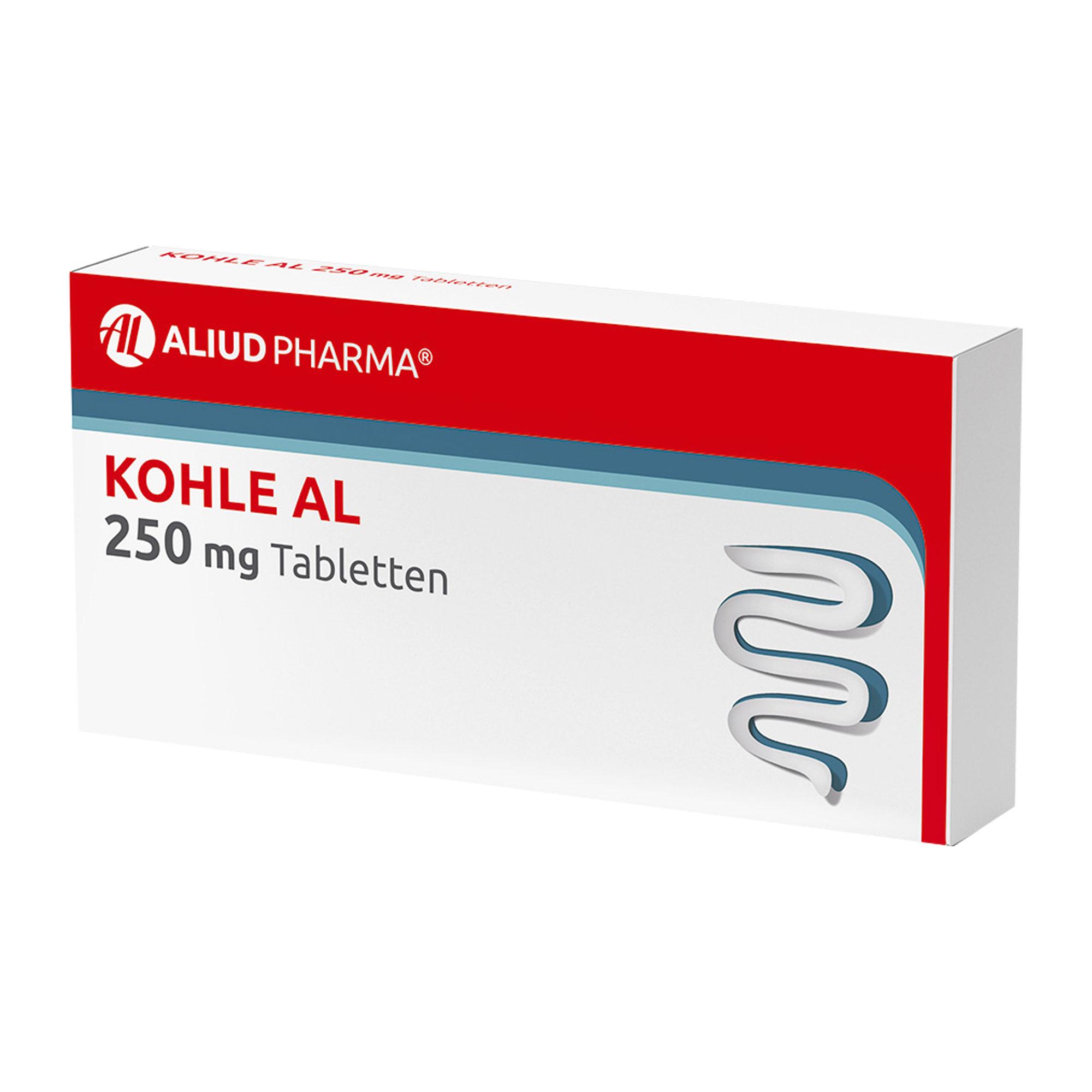 Kohle AL 250 mg Tabletten