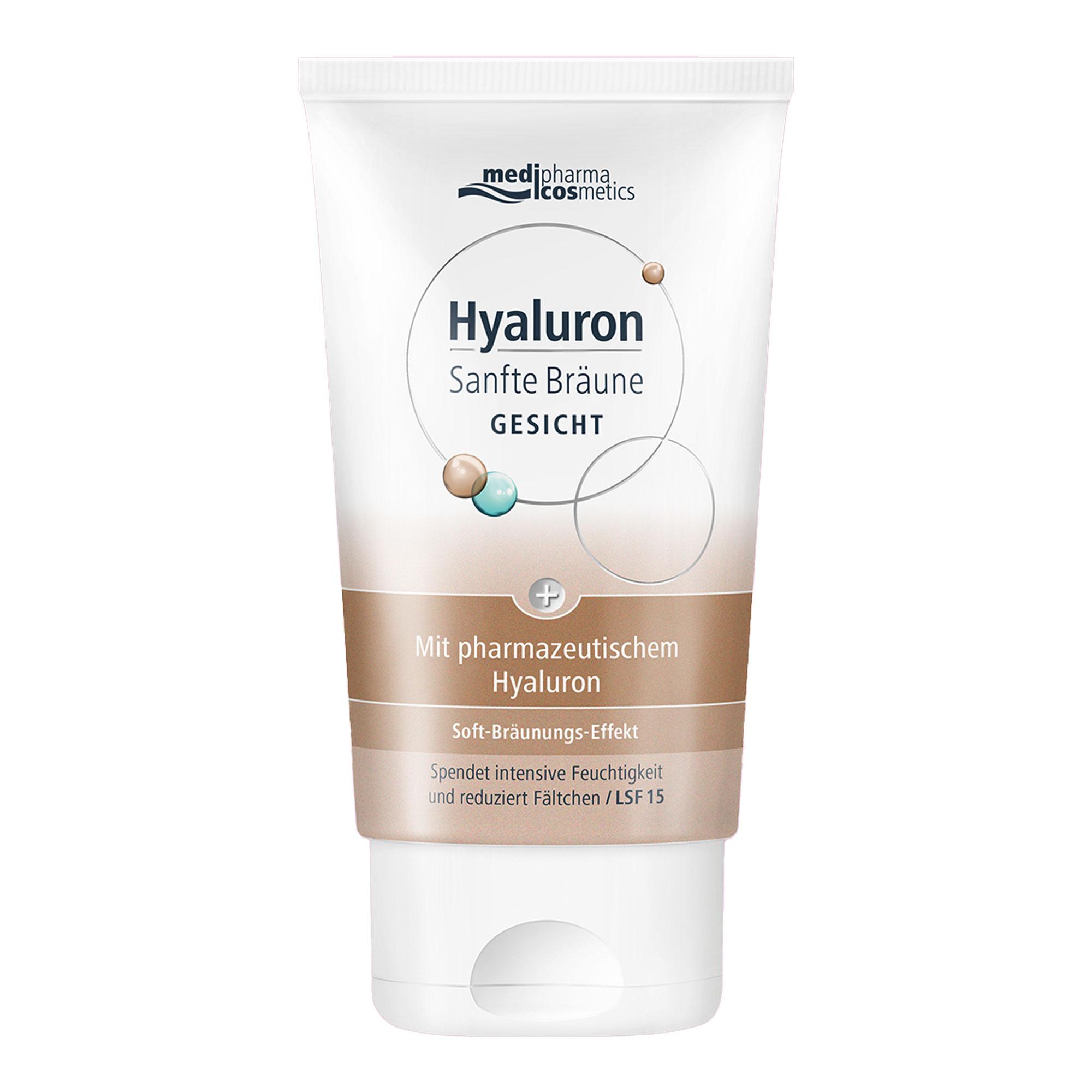 Hyaluron Sanfte Bräune Gesichtspflege