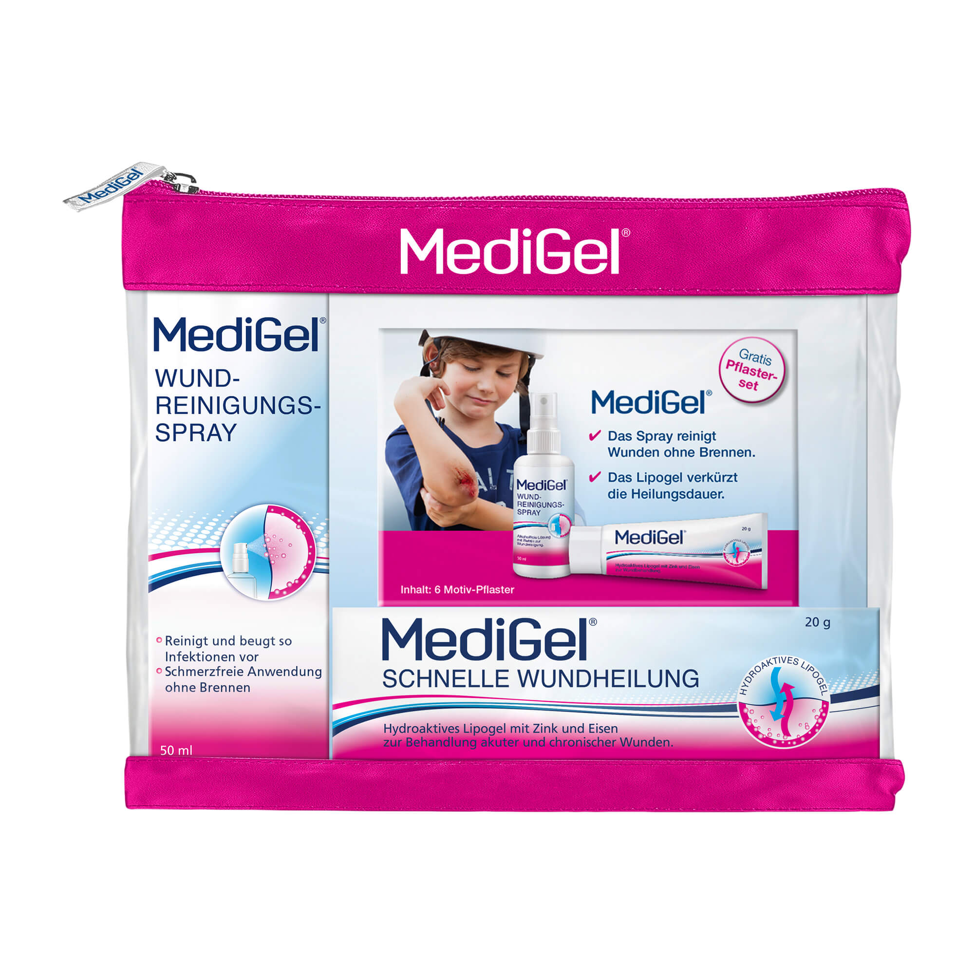 MediGel Wundversorgungs-Set