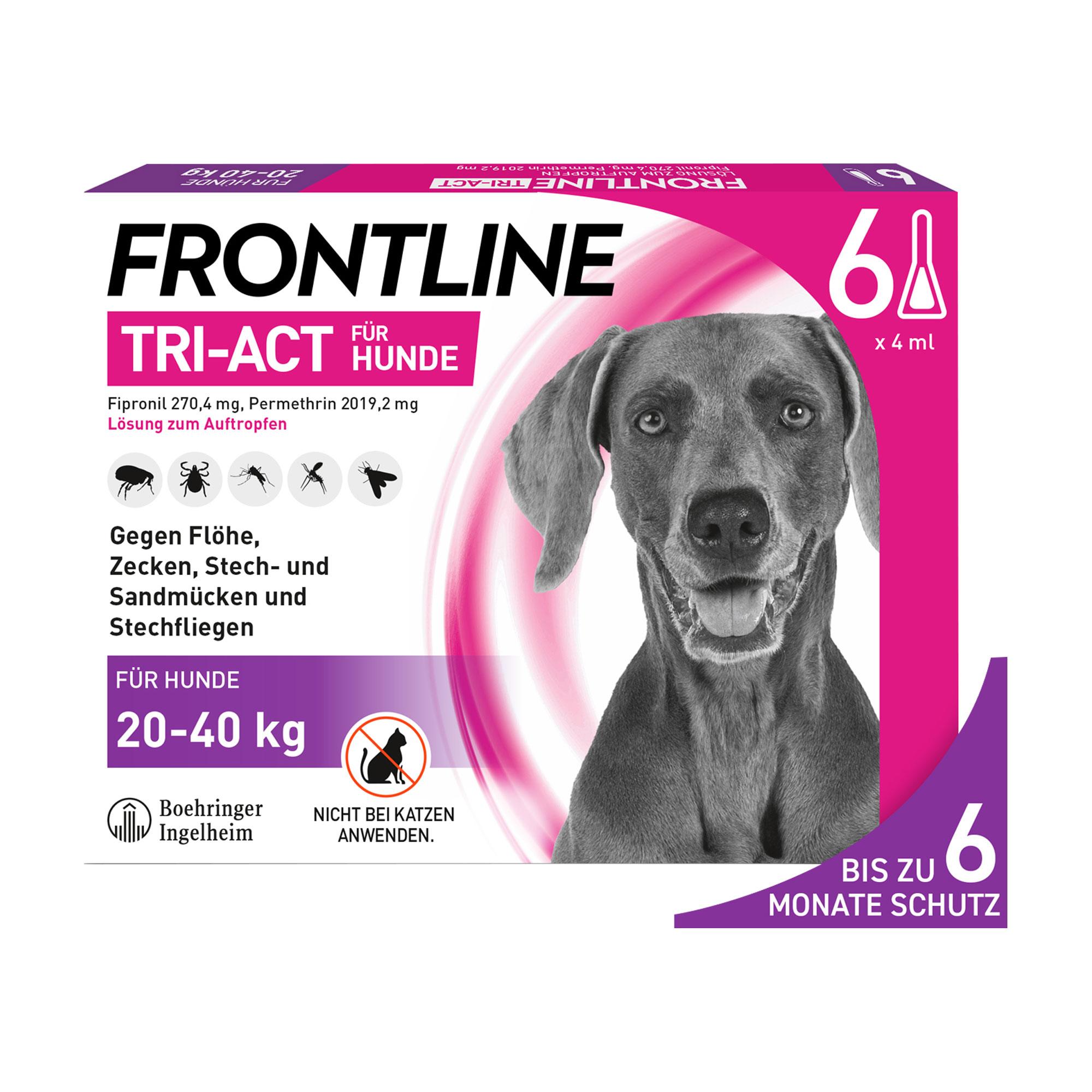Frontline Tri-Act Hunde 20-40 kg