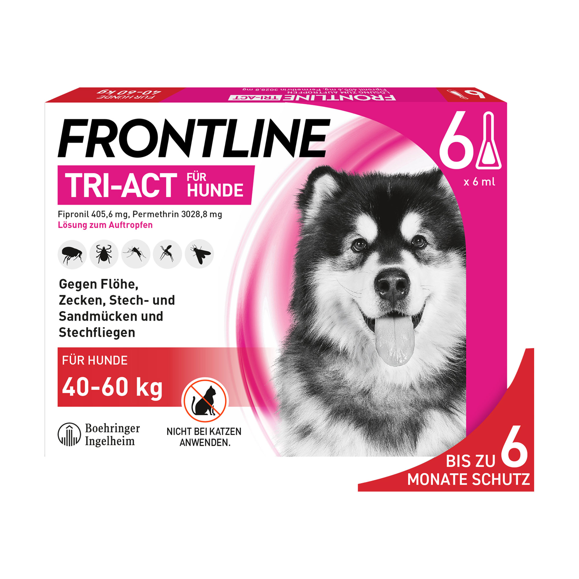 Frontline Tri-Act Hunde 40-60 kg