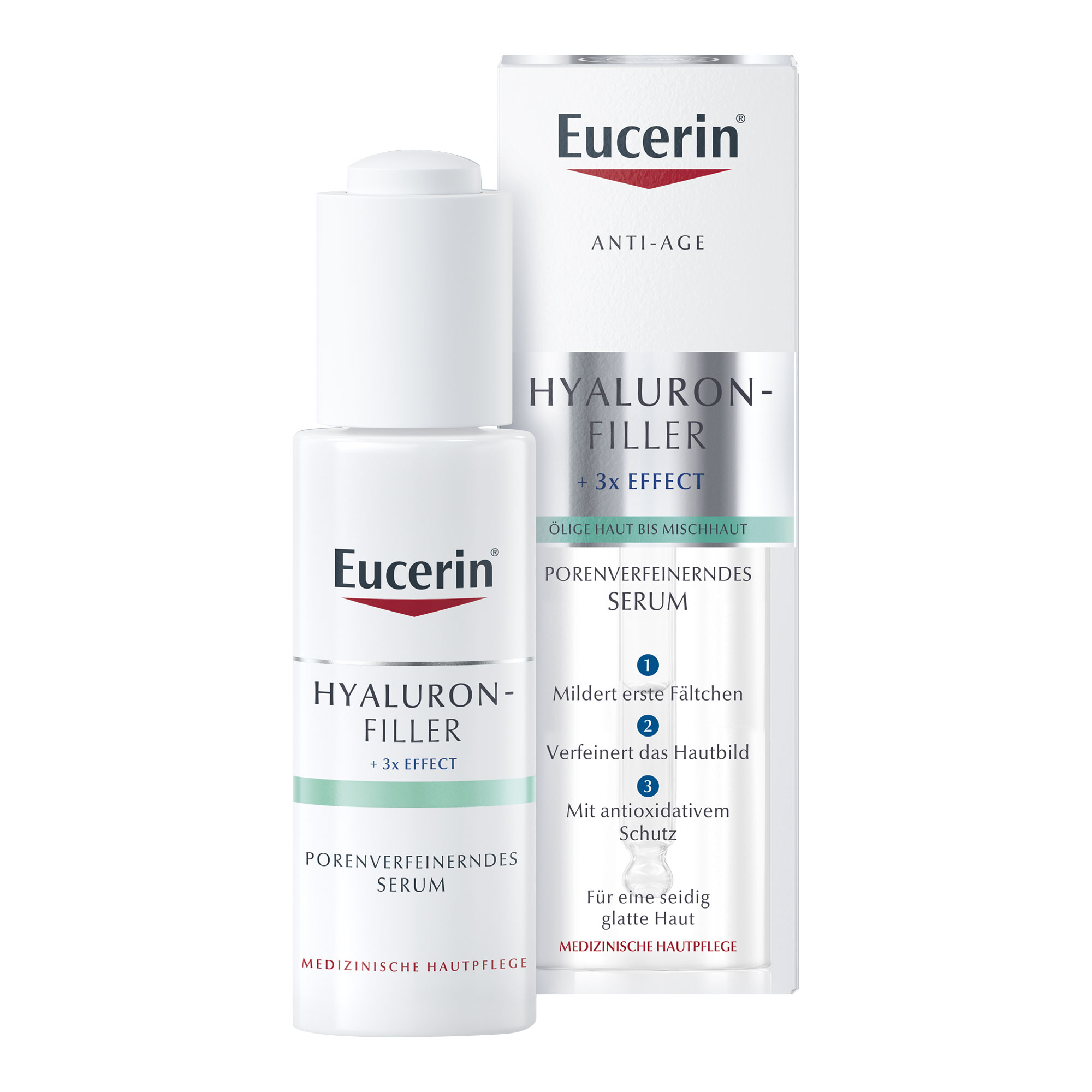 Eucerin Anti-Age HYALURON-FILLER porenverfeinerndes Serum