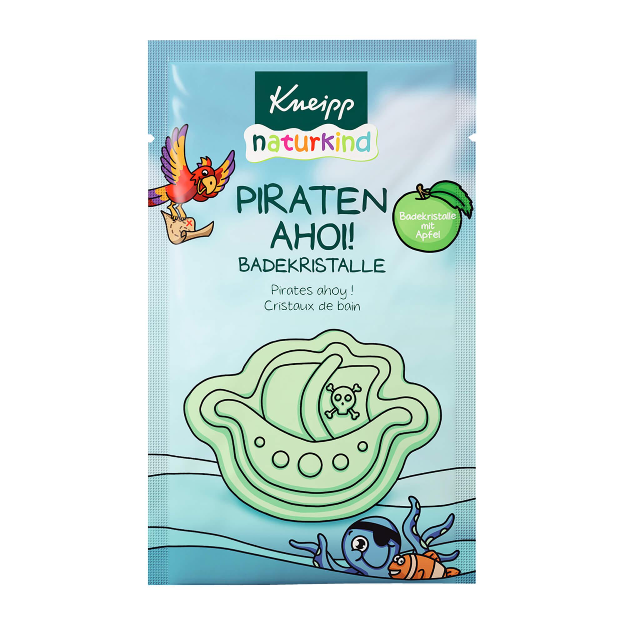 Kneipp naturkind Badekristalle Piraten Ahoi mit Förmchen