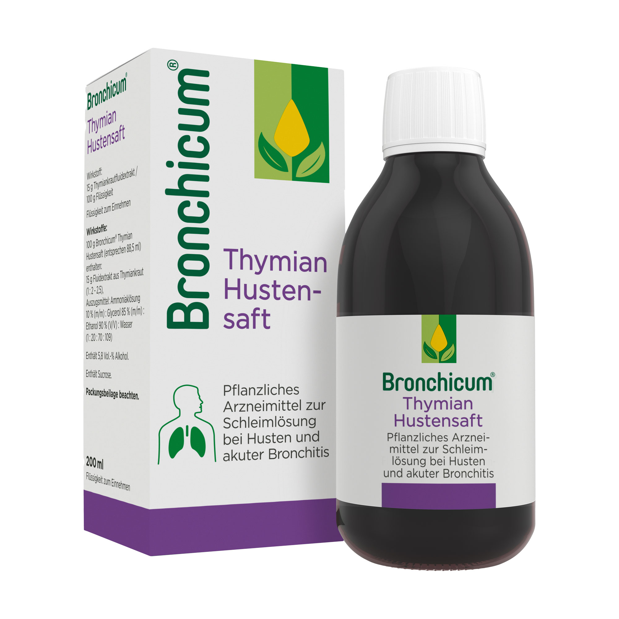 Bronchicum Thymian Hustensaft