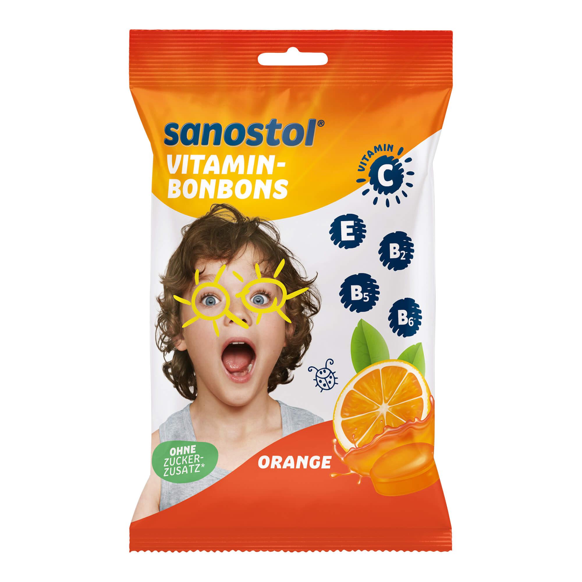 Sanostol Vitaminbonbons Orange