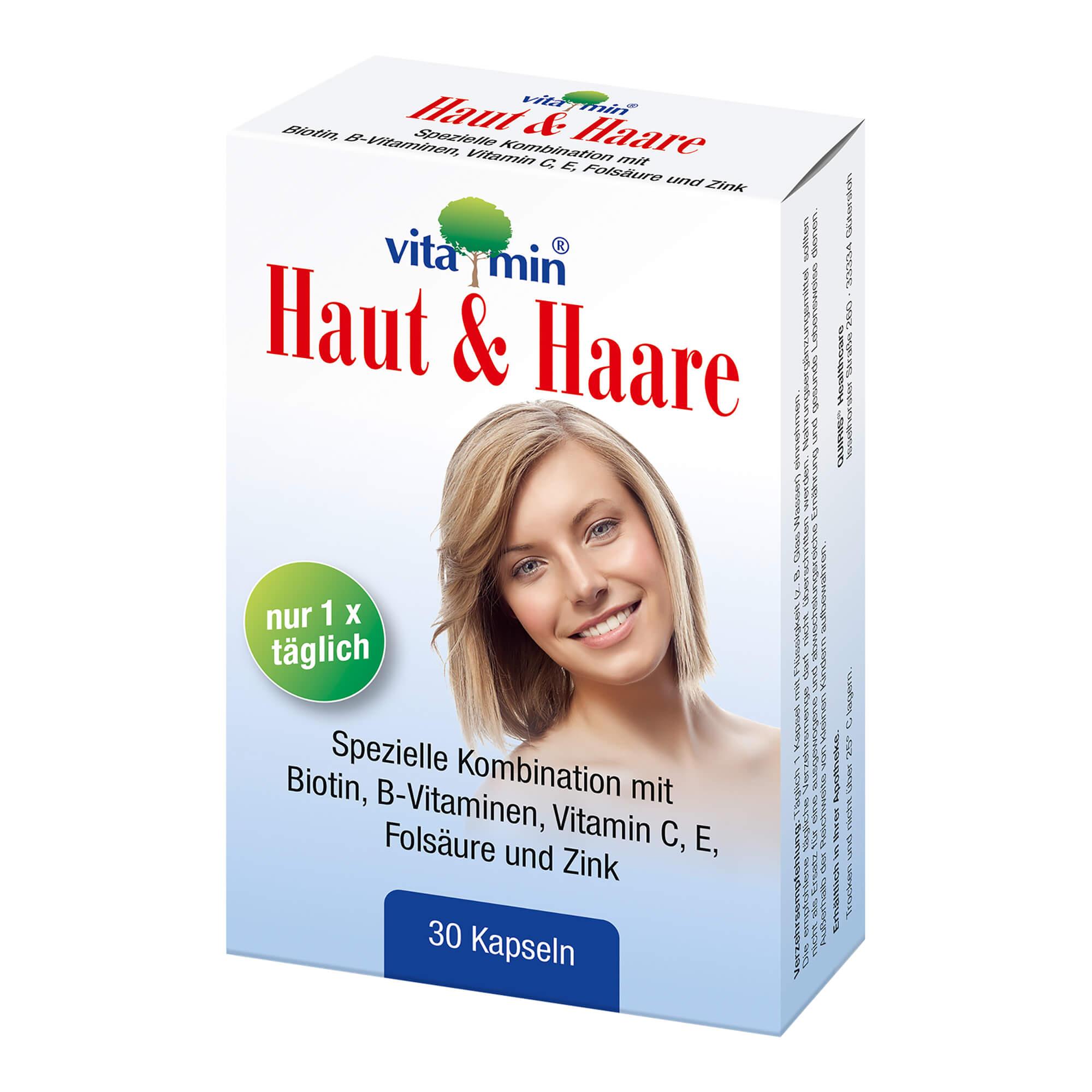 Haut & Haare Vitamin Kapseln