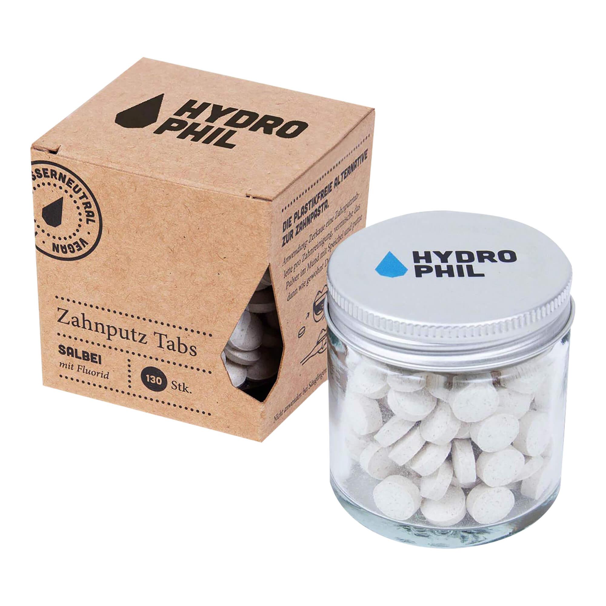 Zahnputz-Tabs Salbei mit Fluorid