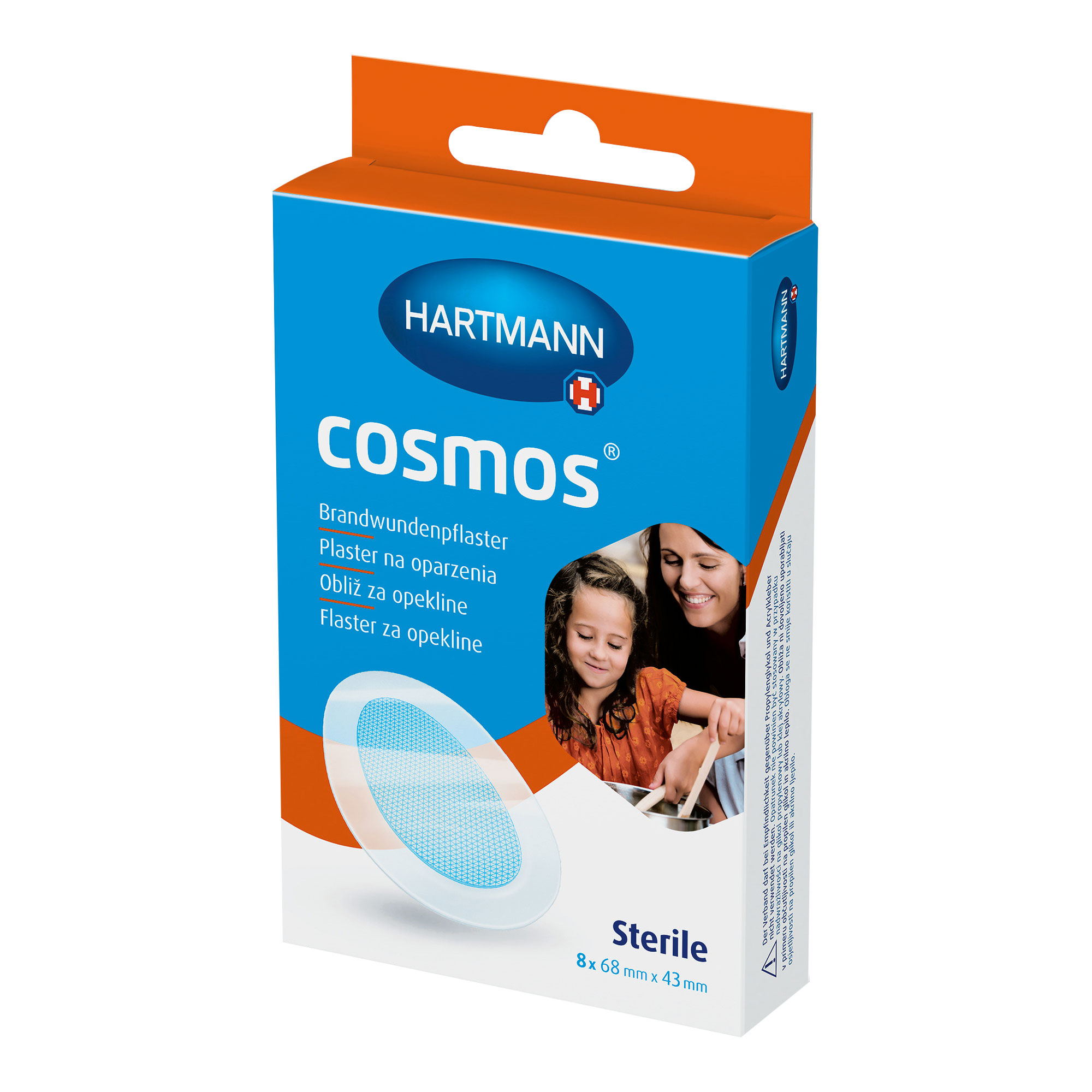 Cosmos Brandwundenpflaster 43x68 mm