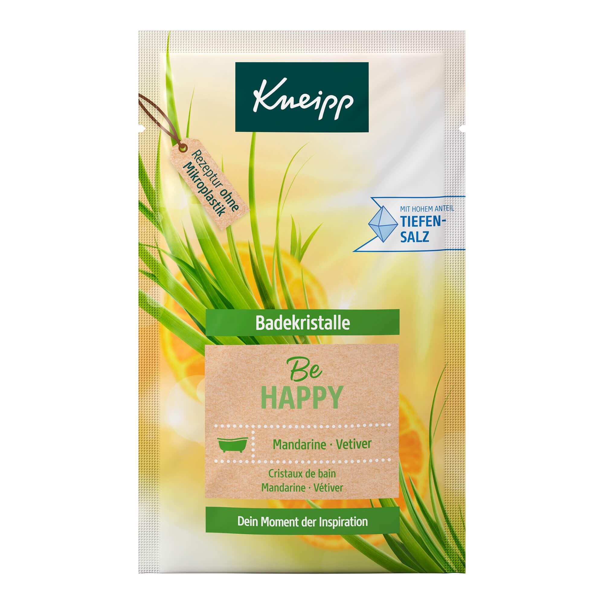 Kneipp Badekristalle Be Happy