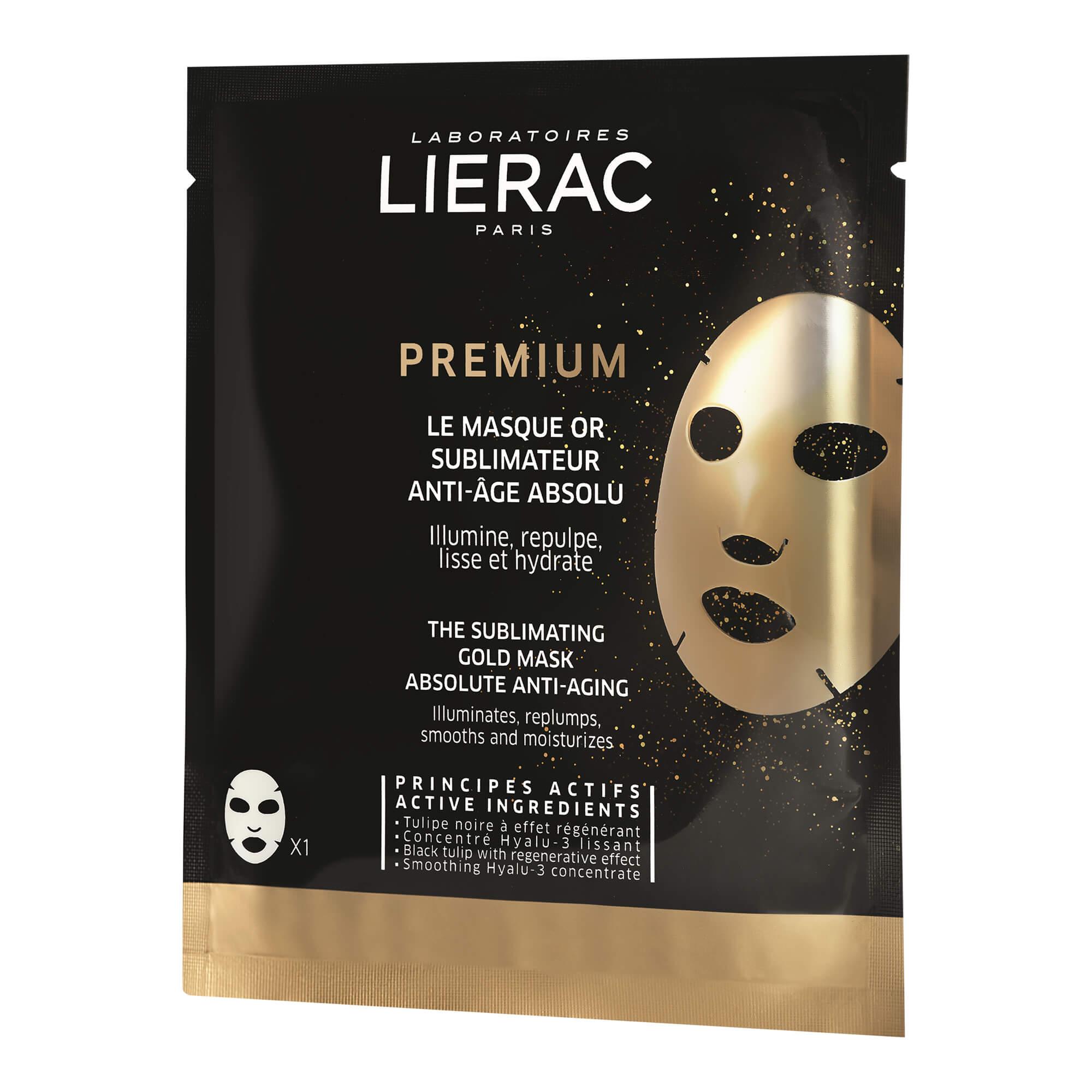 Lierac PREMIUM Anti-Age Gold Tuchmaske
