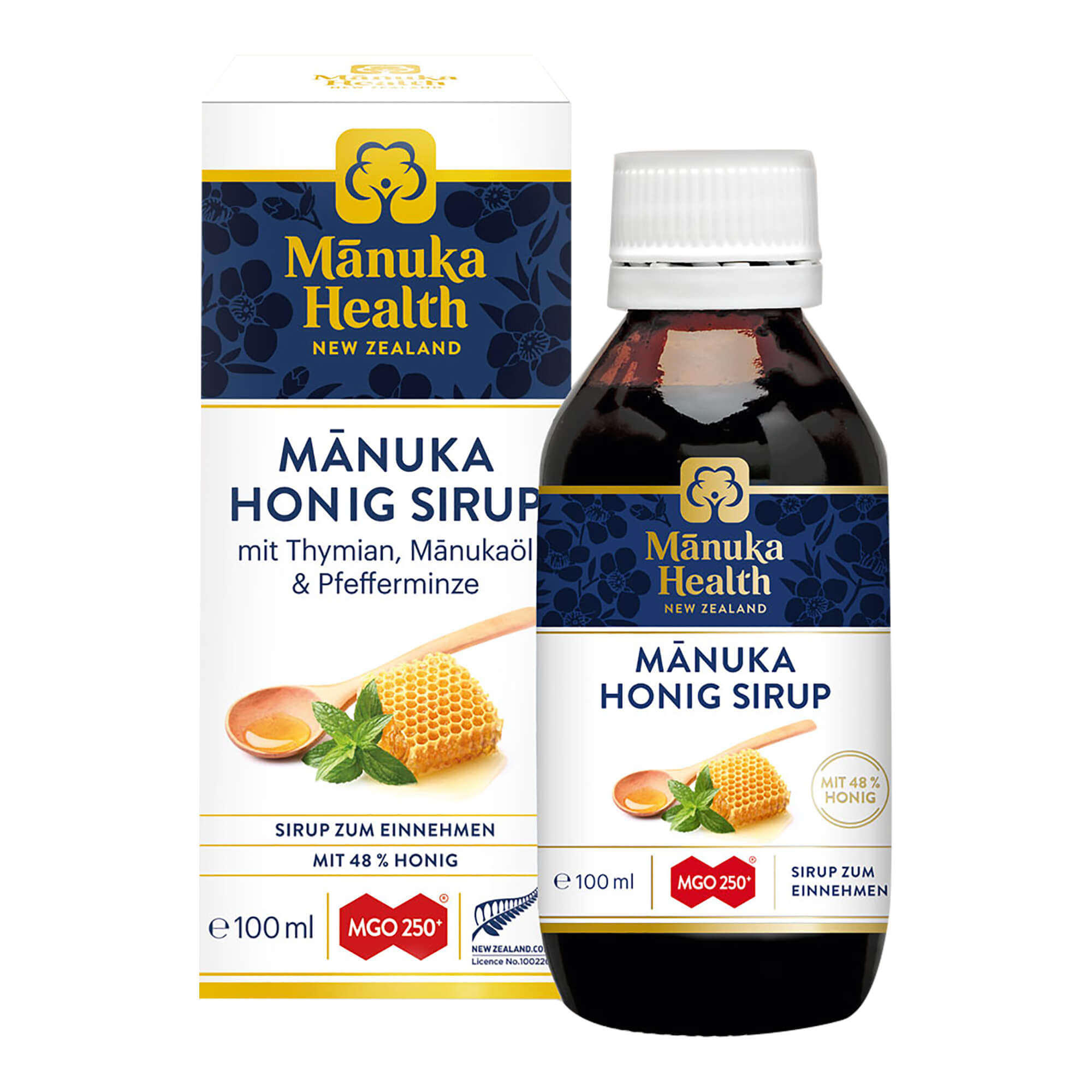 Manuka Health Honig Sirup MGO 250+