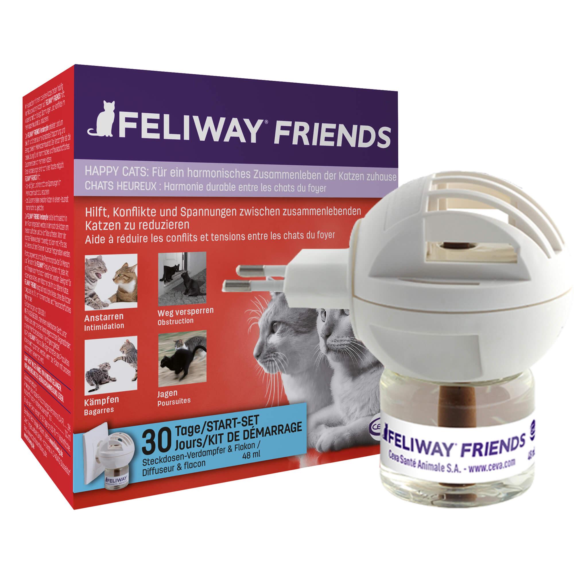 Feliway FRIENDS Start-Set für Katzen
